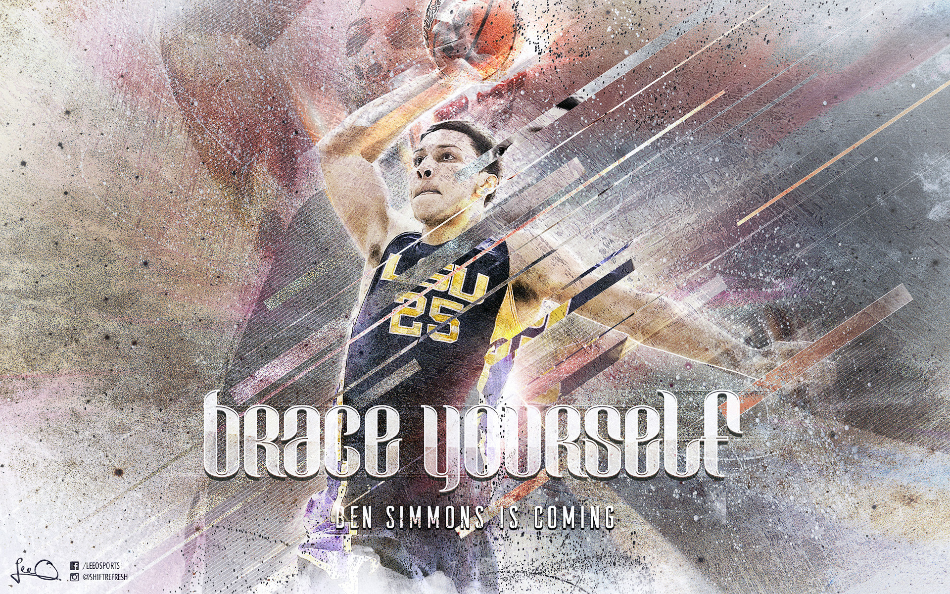 1920x1200 Ben Simmons LSU Tigers  Wallpaper