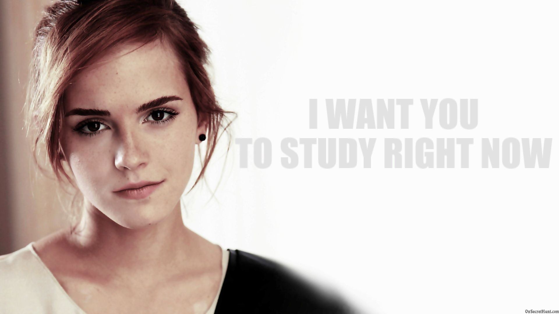 1920x1080 emma watson black and white Wallpaper HD Wallpaper
