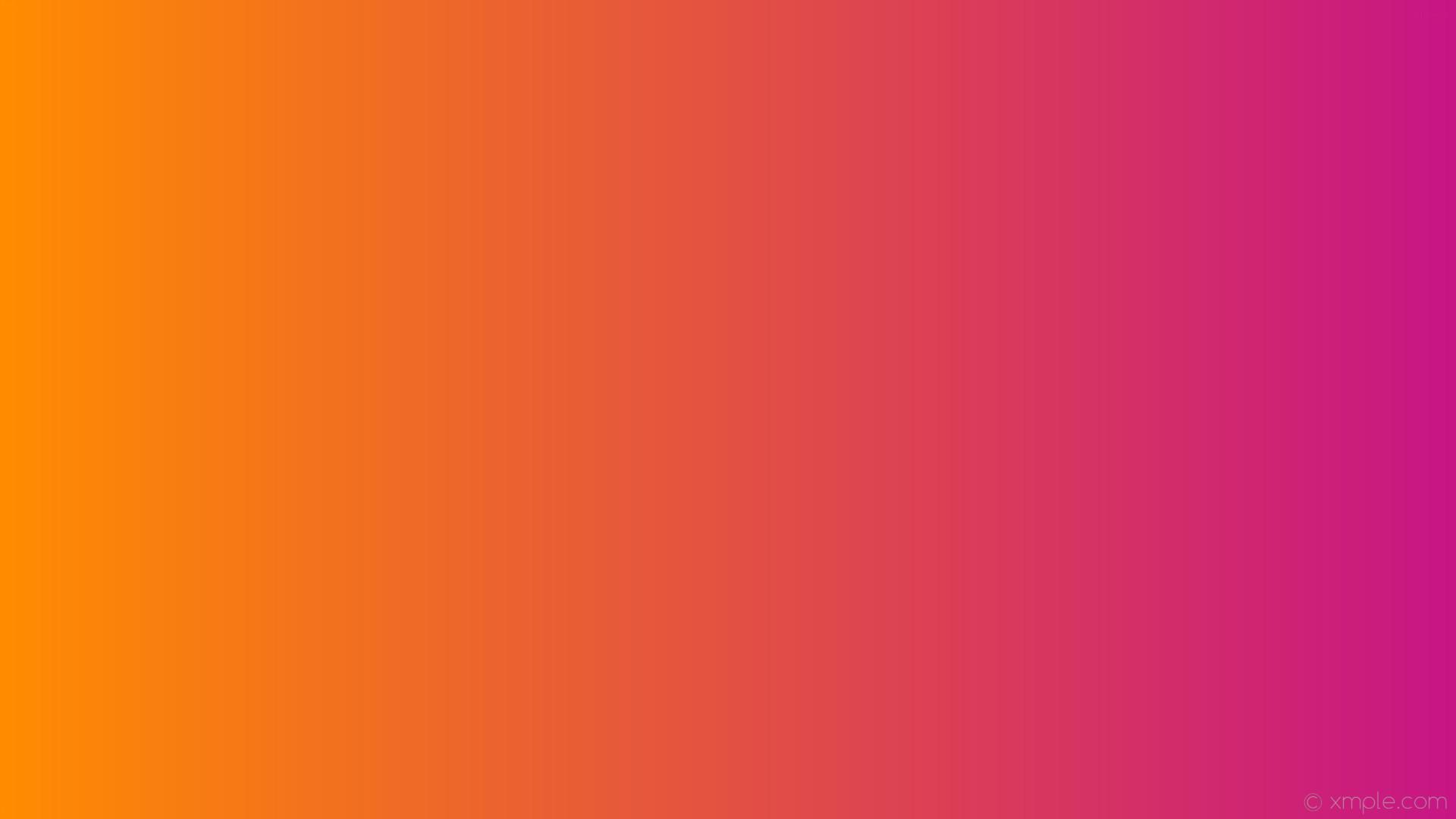1920x1080 Wallpaper Linear Gradient Pink Orange Medium Violet Red Dark C71585 Ff8c00 0A