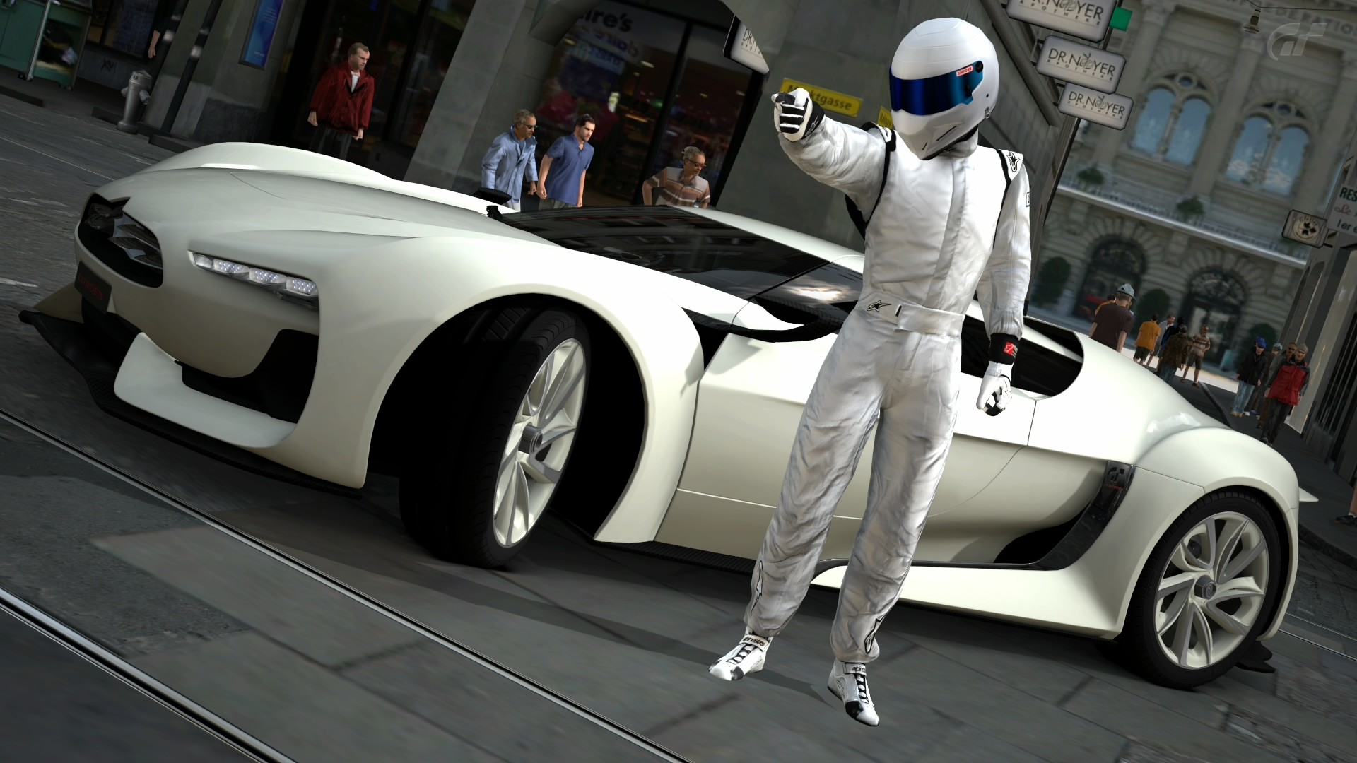 1920x1080 Cars Gran Turismo 5 GT By Citron The Stig Video Games
