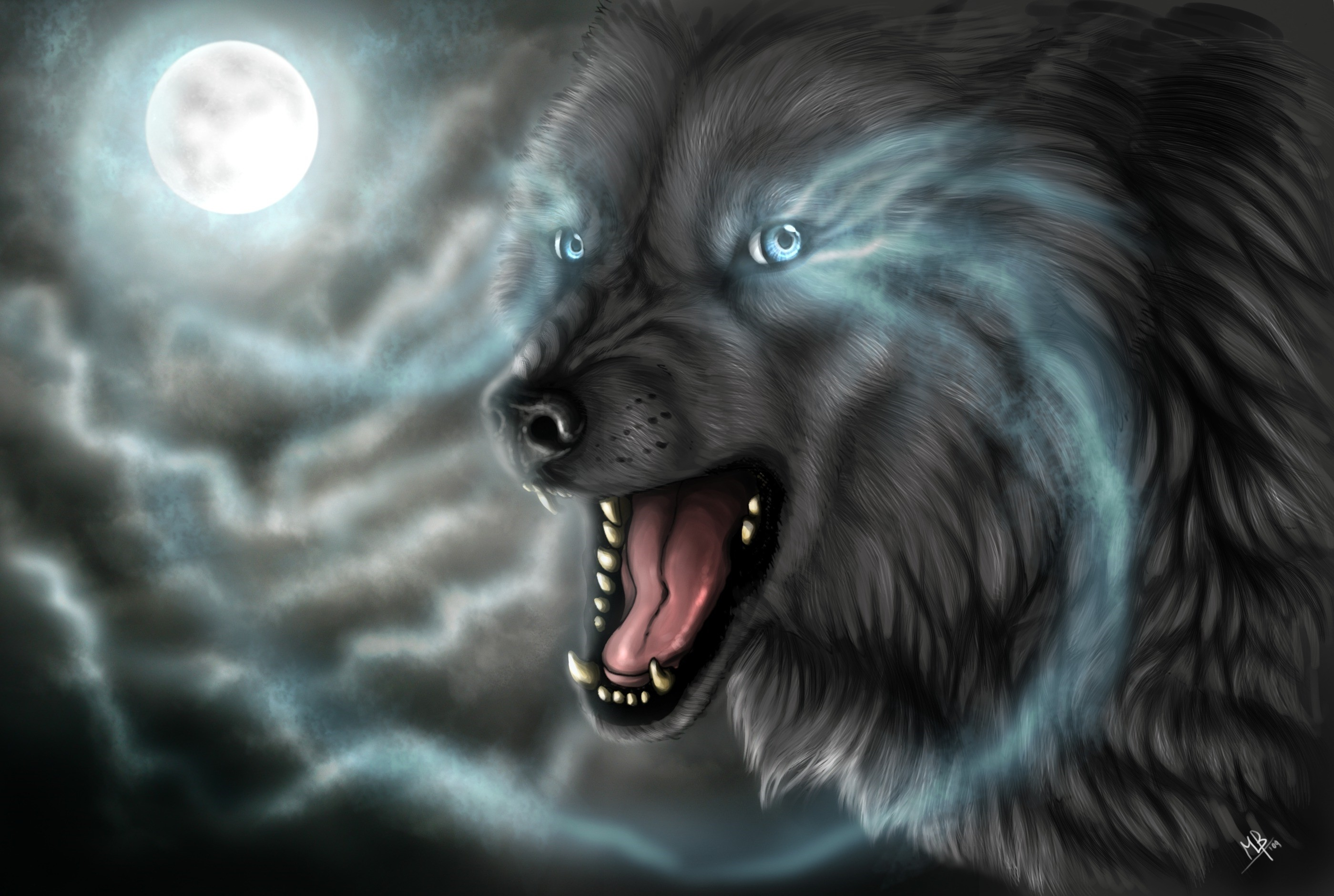 2799x1880 ... Cool Wolf Wallpaper cool wolf wallpapers 1LE ...