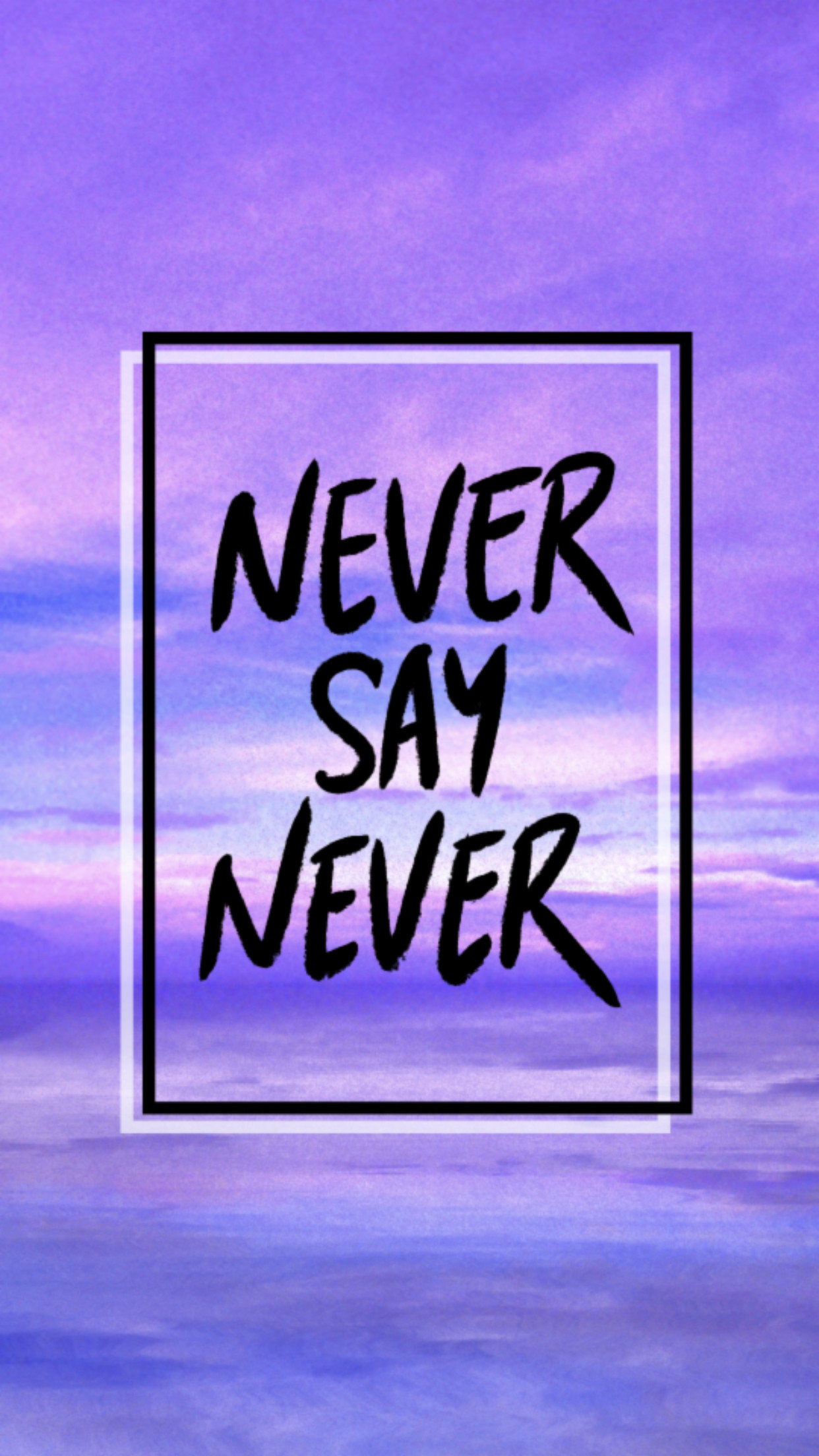 never say never After diamonds are forever (1971) sean told her he'd never play james bond again, there he was, playing james bond again , her response was for him to never say never again  however , for a big salary he accepted this film.