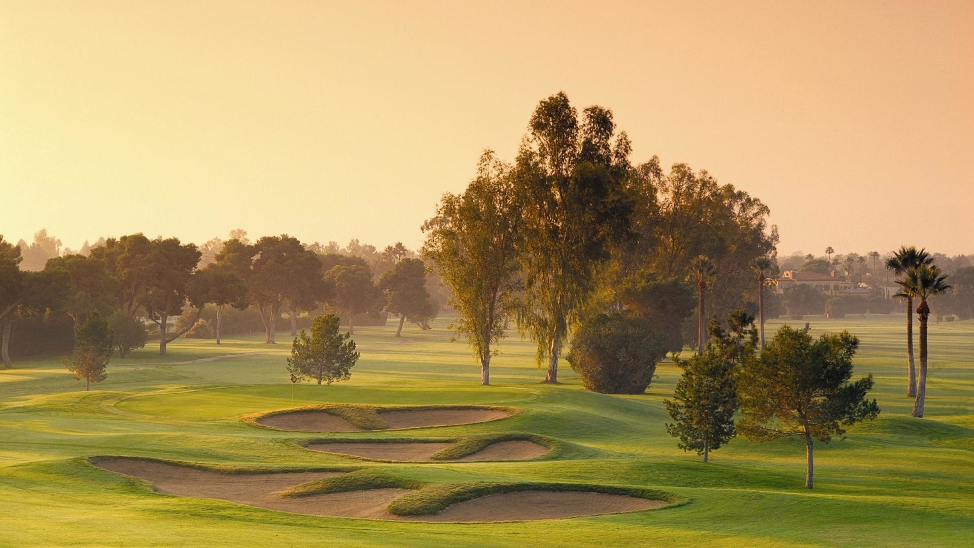 1920x1080 lovely golf course wallpaper 46046