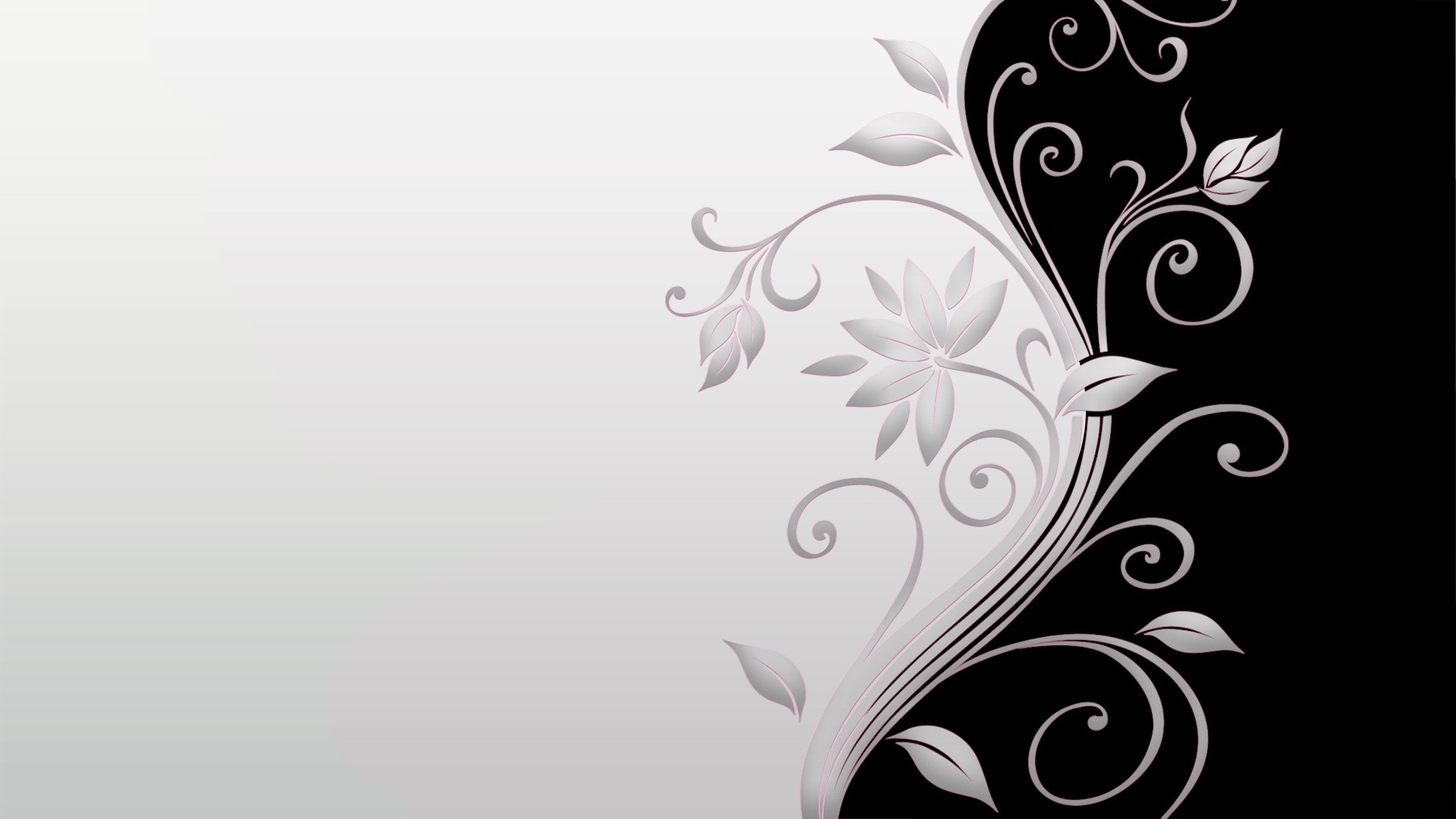 Black and white flower wallpaper 56 images 1920x1080 black and white flower wallpapers wallpapers mightylinksfo