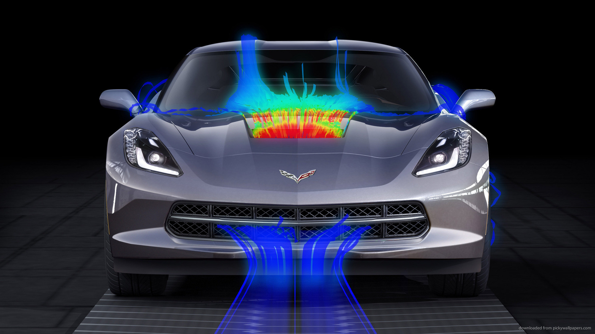 1920x1080 Chevrolet Corvette Stingray Aerodynamics for
