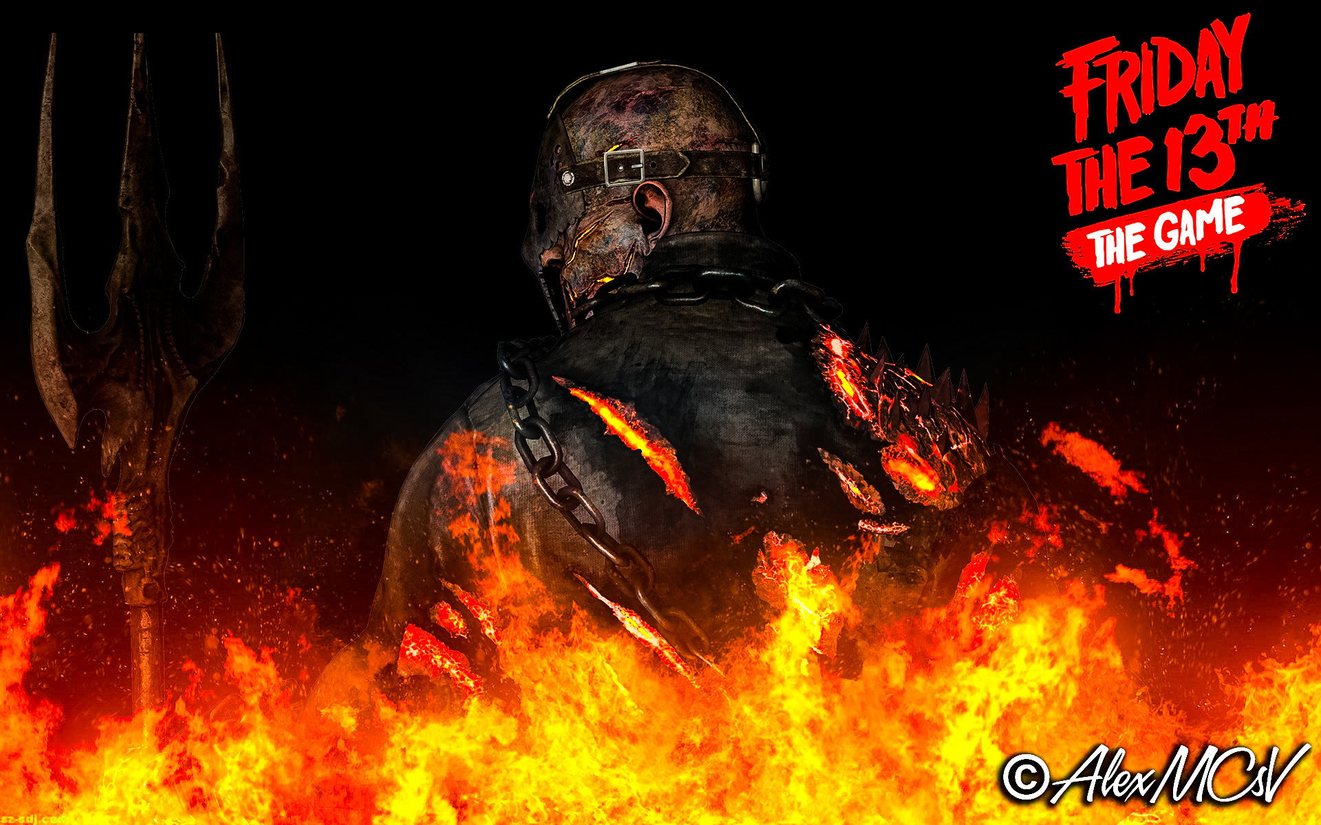 1920x1200 ... SAVINI JASON WALLPAPER - FRIDAY THE 13th by AlexMCsV