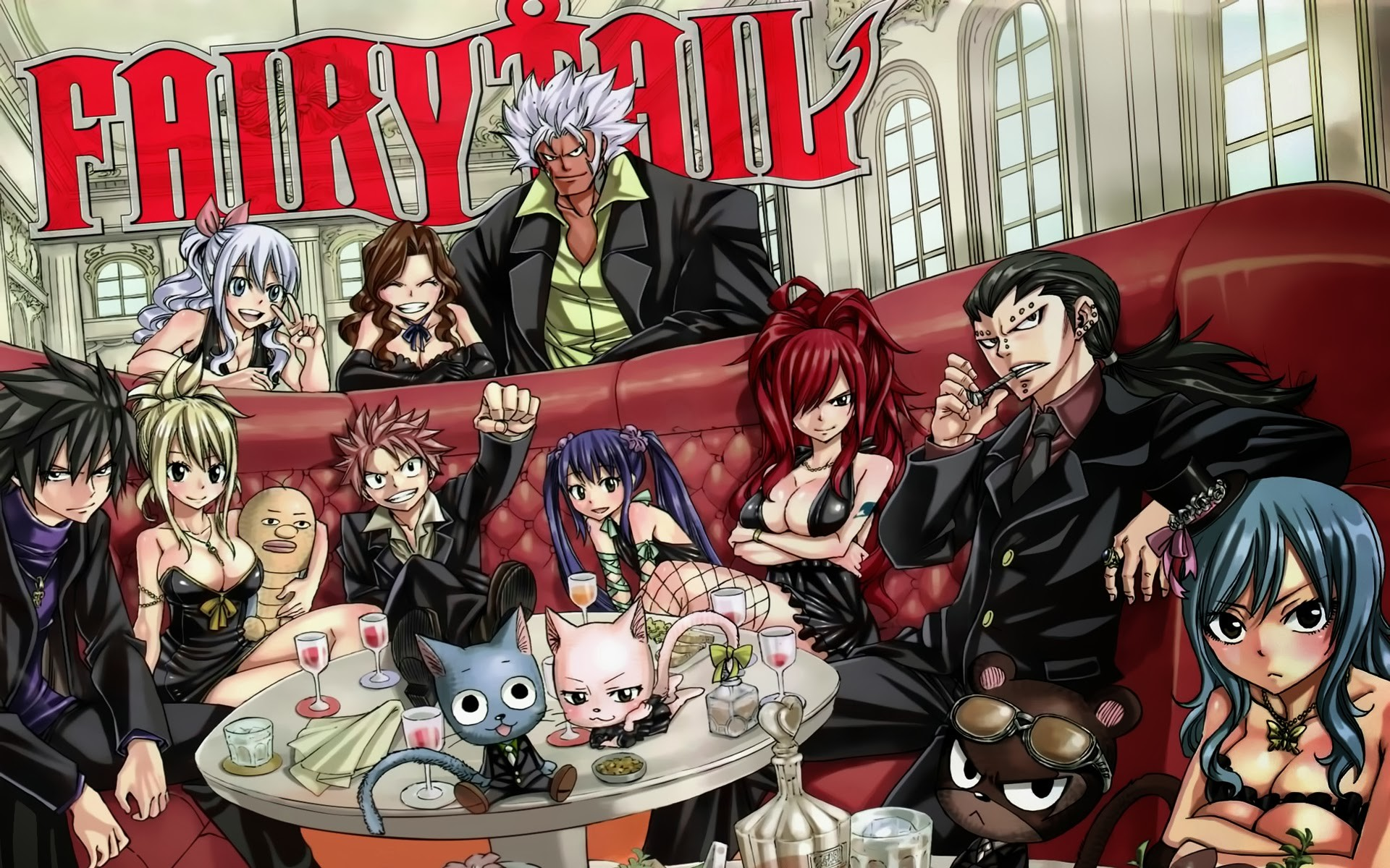 1920x1200 High Resolution Best Anime Fairy Tail Wallpaper HD 14 Full Size .