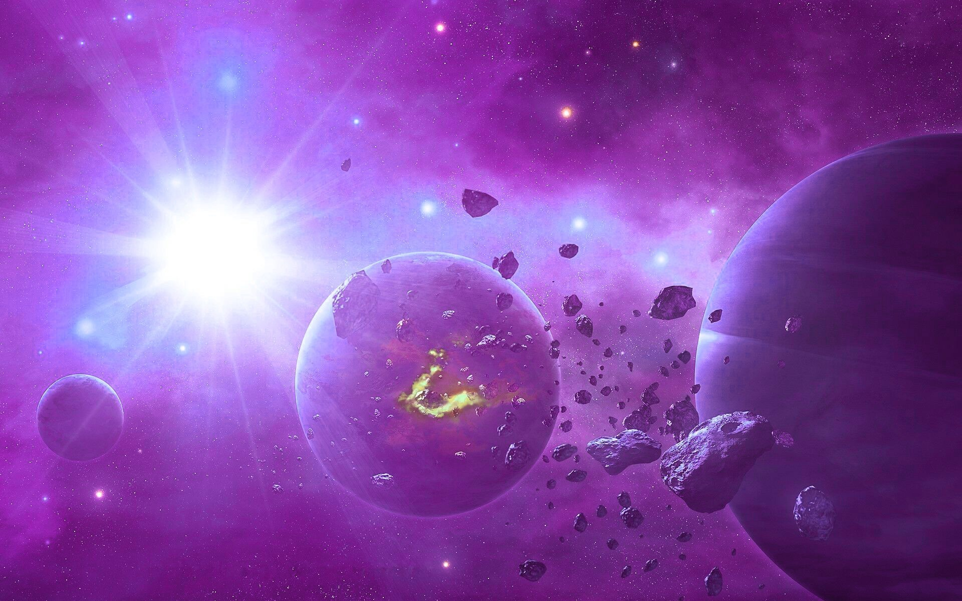 Hd purple space wallpaper 65 images - Space wallpaper 1920x1200 ...