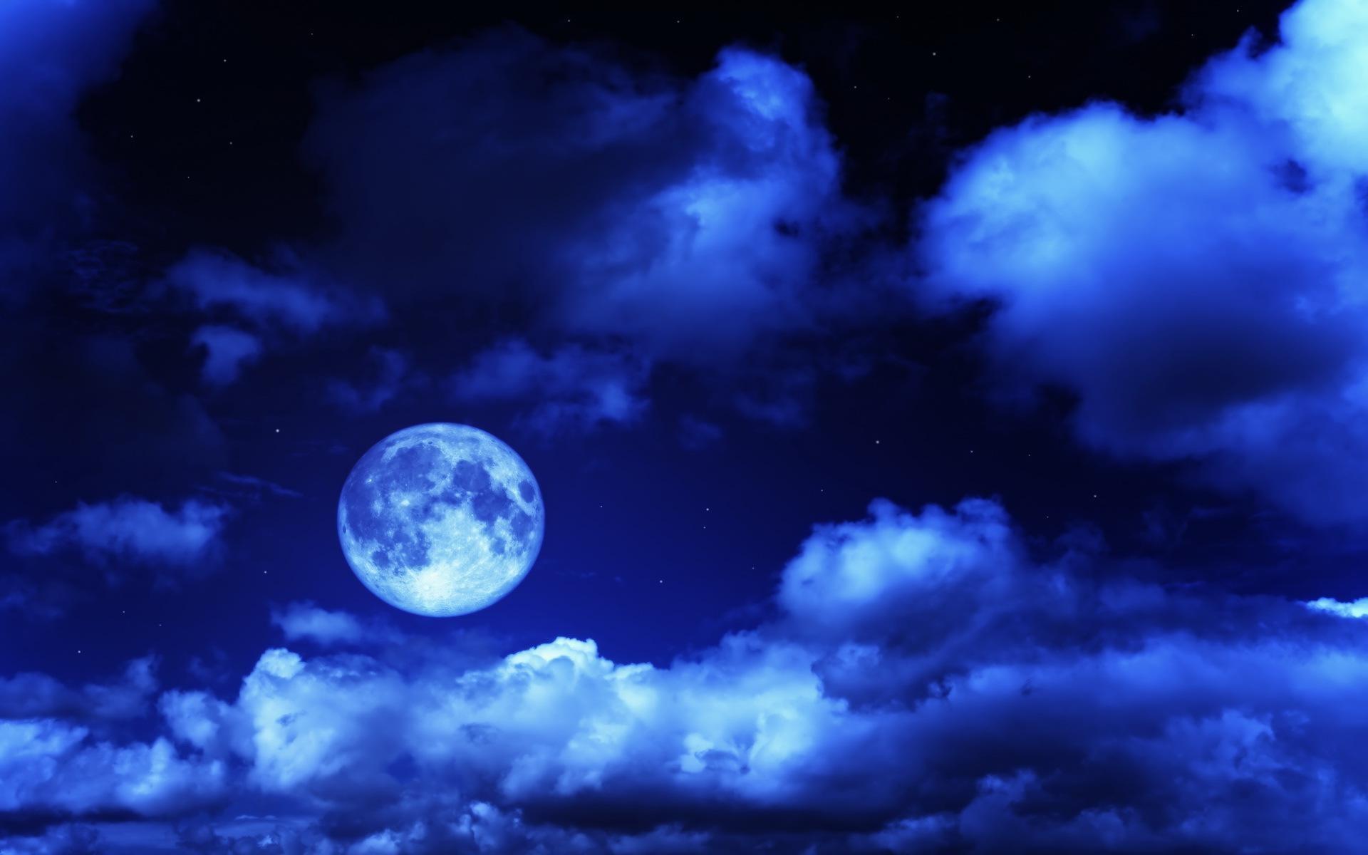 Blue Moon Wallpaper 63 Images