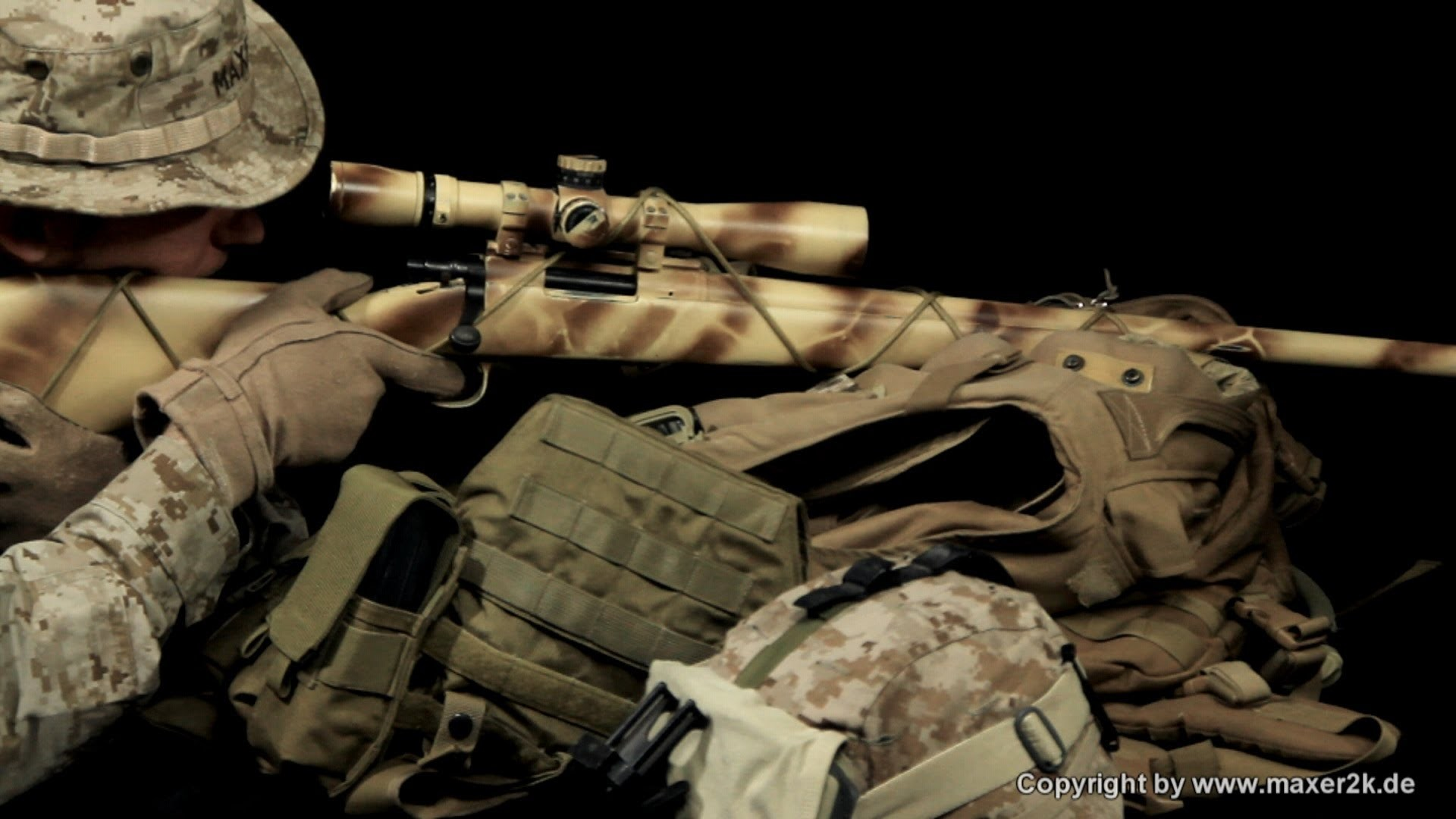 Airsoft sniper wallpaper