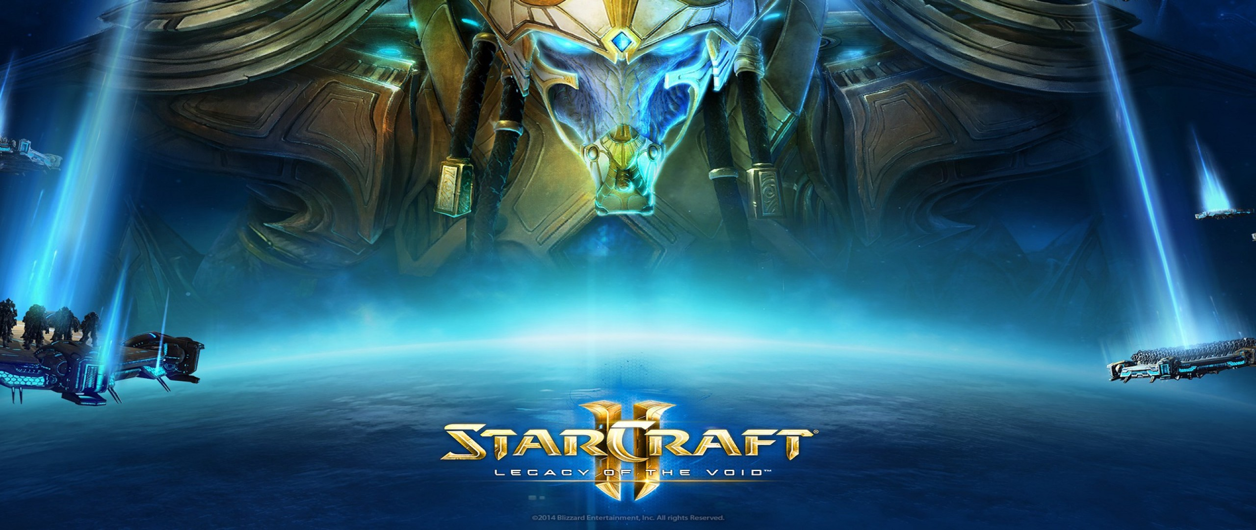 2560x1080 StarCraft 2: Legacy of the Void Dual Monitor Wallpaper
