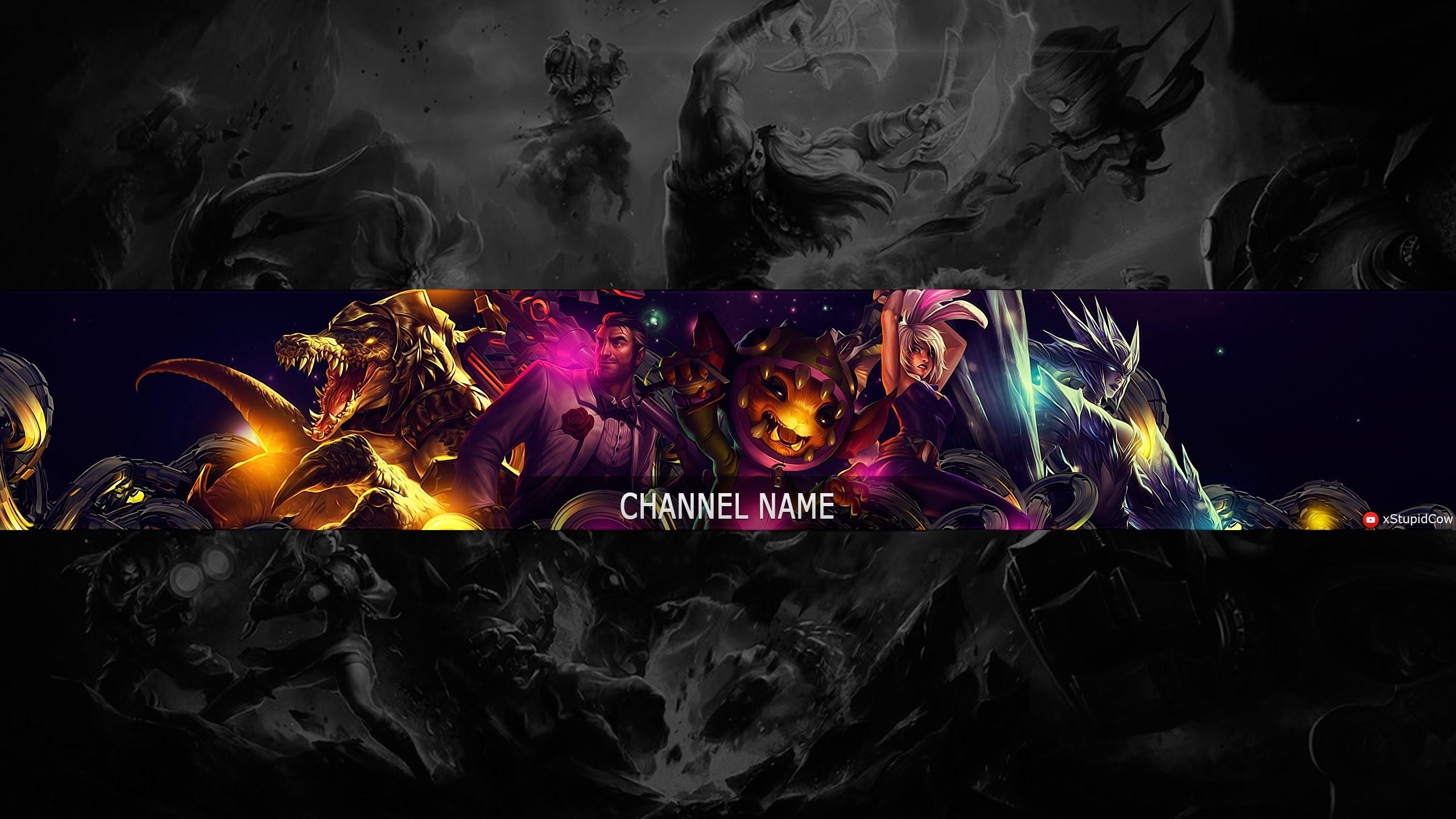Youtube Kanal Banner 2048x1152 Fortnite