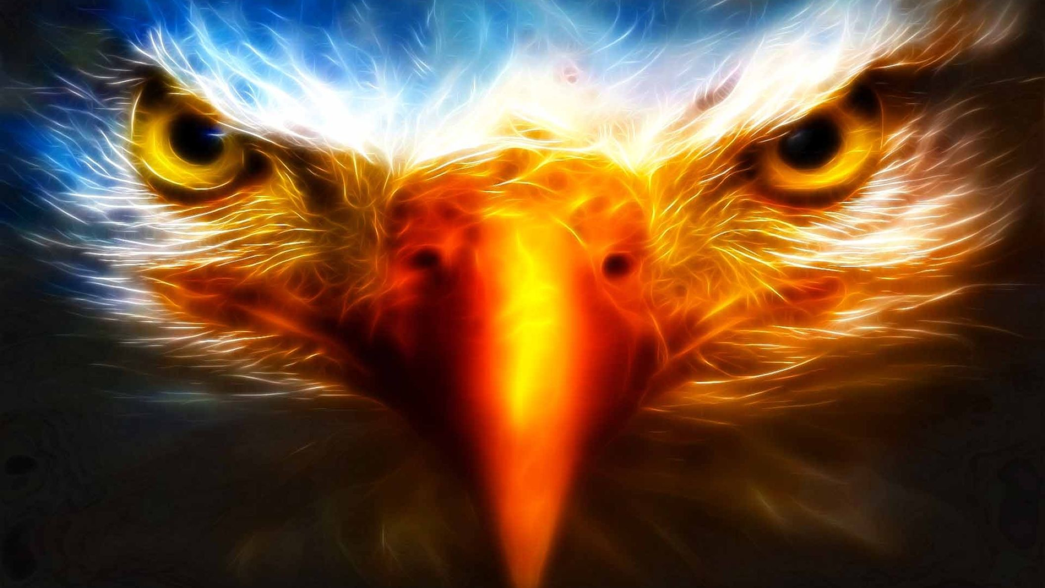 2112x1188 Cool Eagle Animal Backgrounds HD Wallpaper