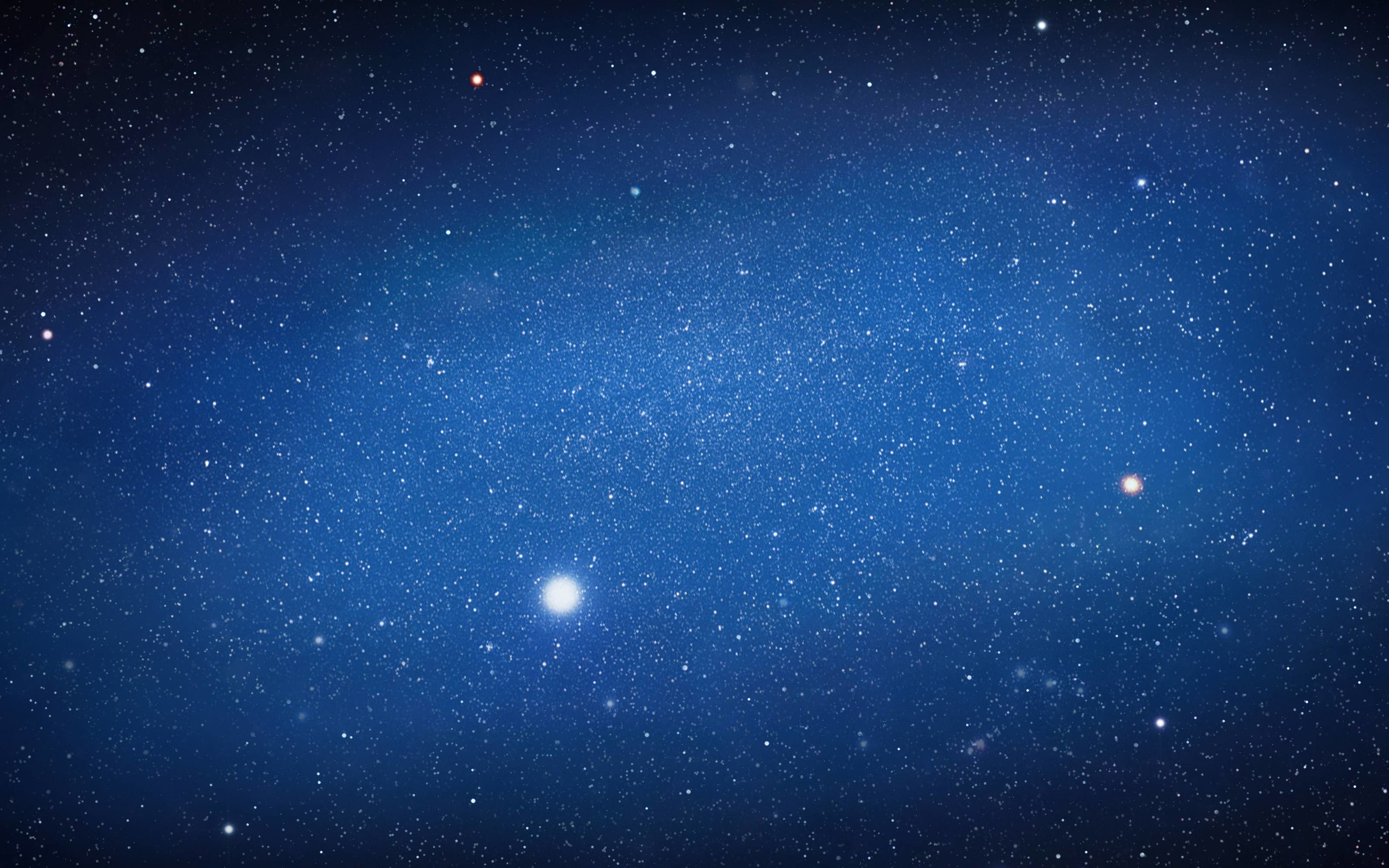 3200x2000 Images For > Blue Night Sky Stars Wallpaper