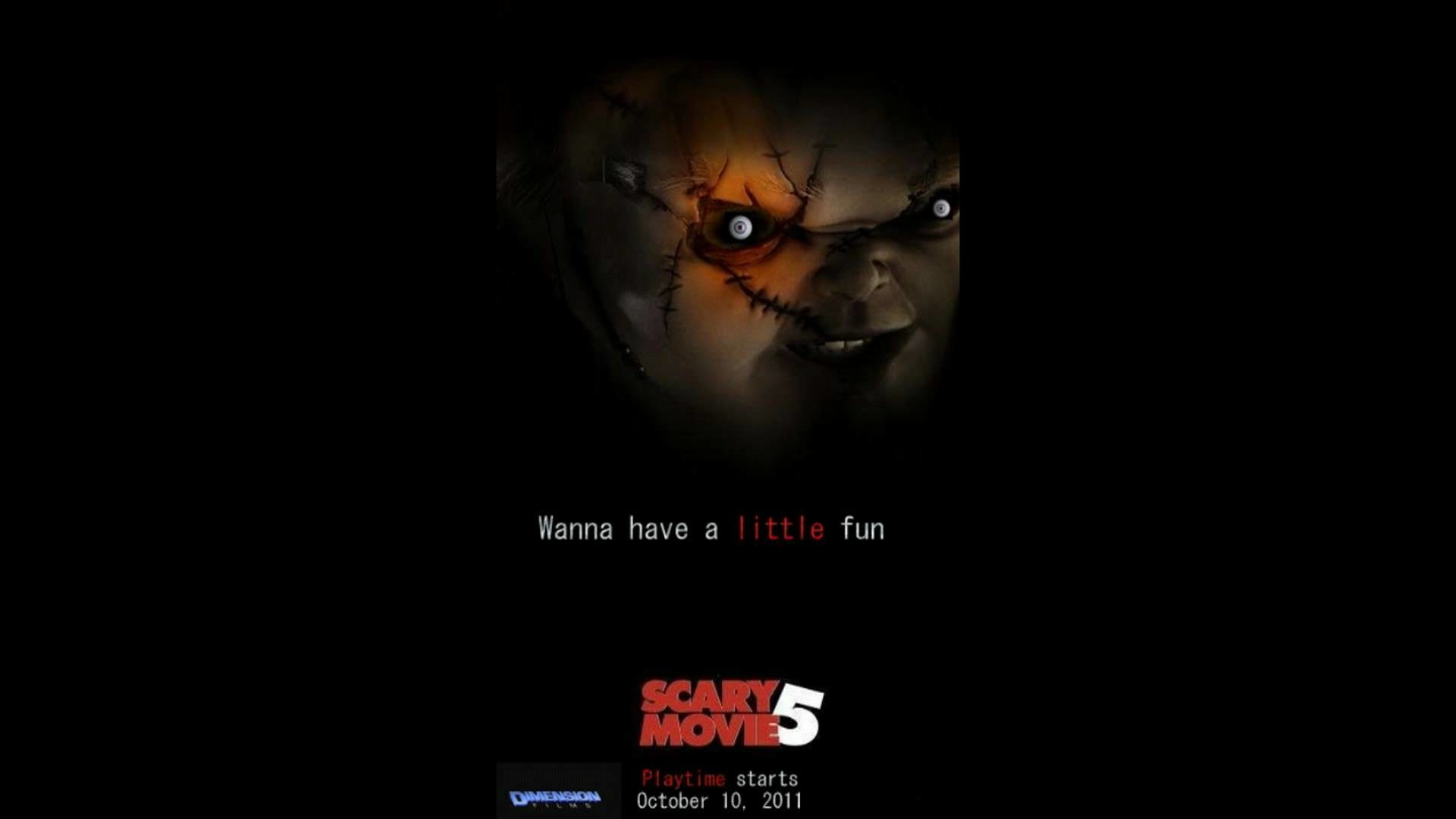 1920x1080 Scary Movie 5 - Seed Of Chucky FAKE spoof poster [05/15/09]