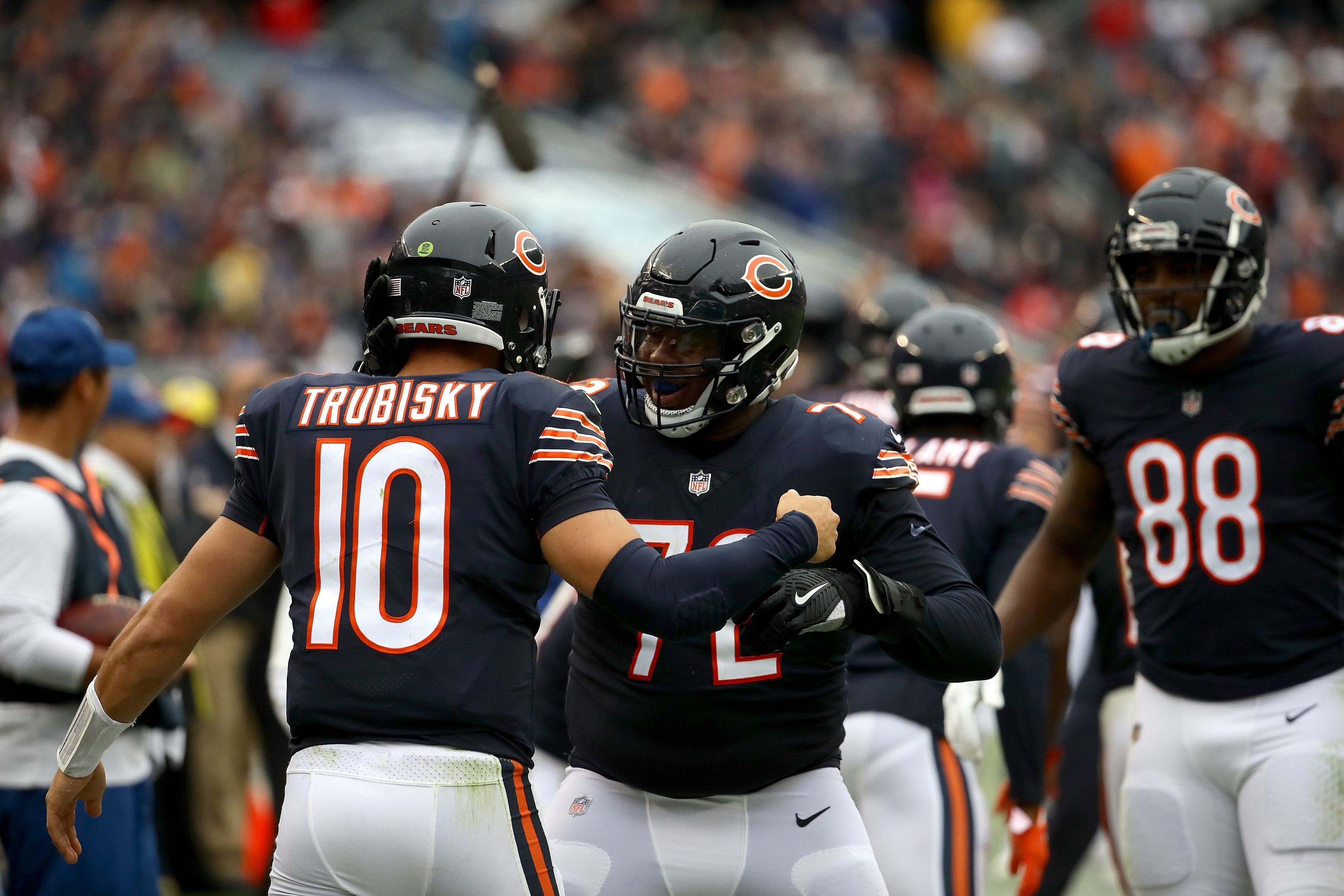 3200x2133 The Chicago Bears are 3-1 and in the driver seat of the NFC North. Not a  single rational person thought that would be the case when 2018 began.