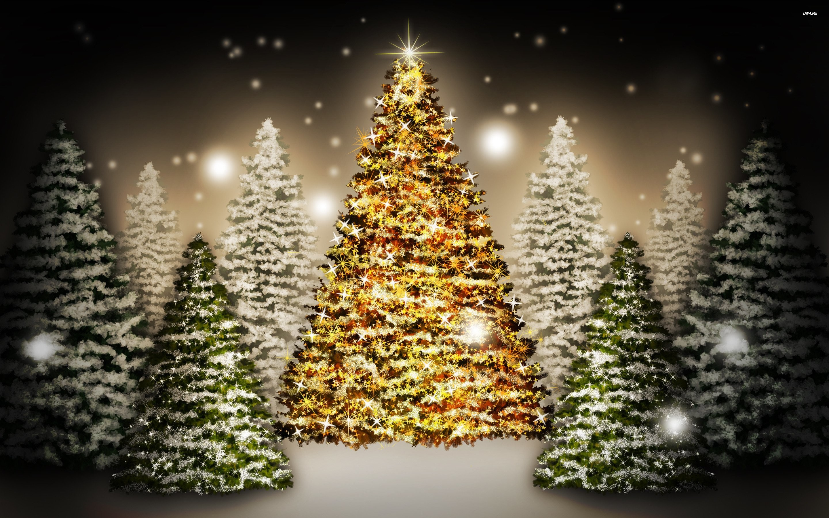 Christmas Tree Wallpaper (79+ images)