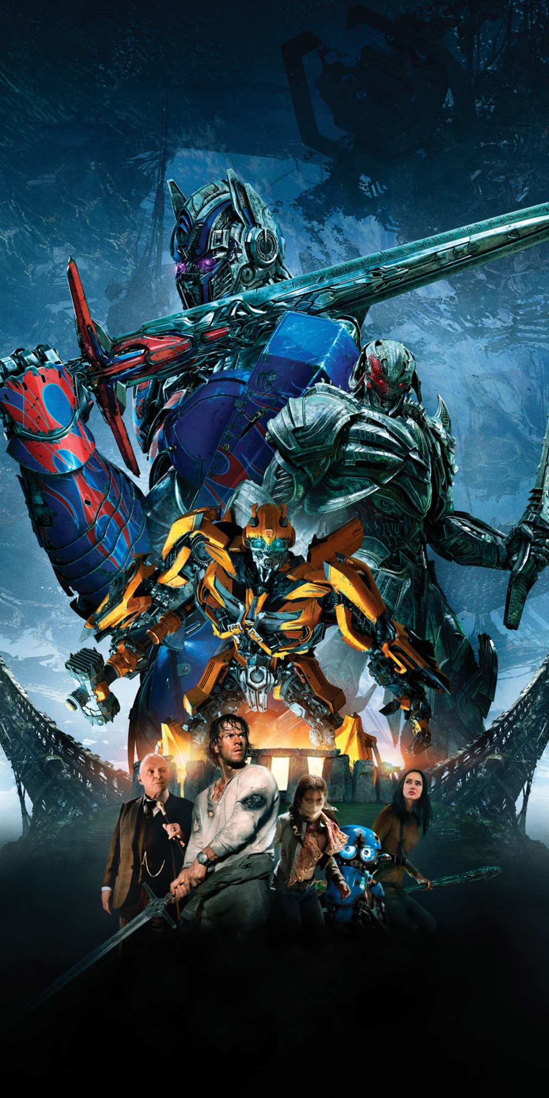 1080x2160 Transformers The Last Knight Bumblebee Megatron Optimus Prime 4k 5k (One  Plus 5T,Honor 7x,Honor view 10,Lg Q6)
