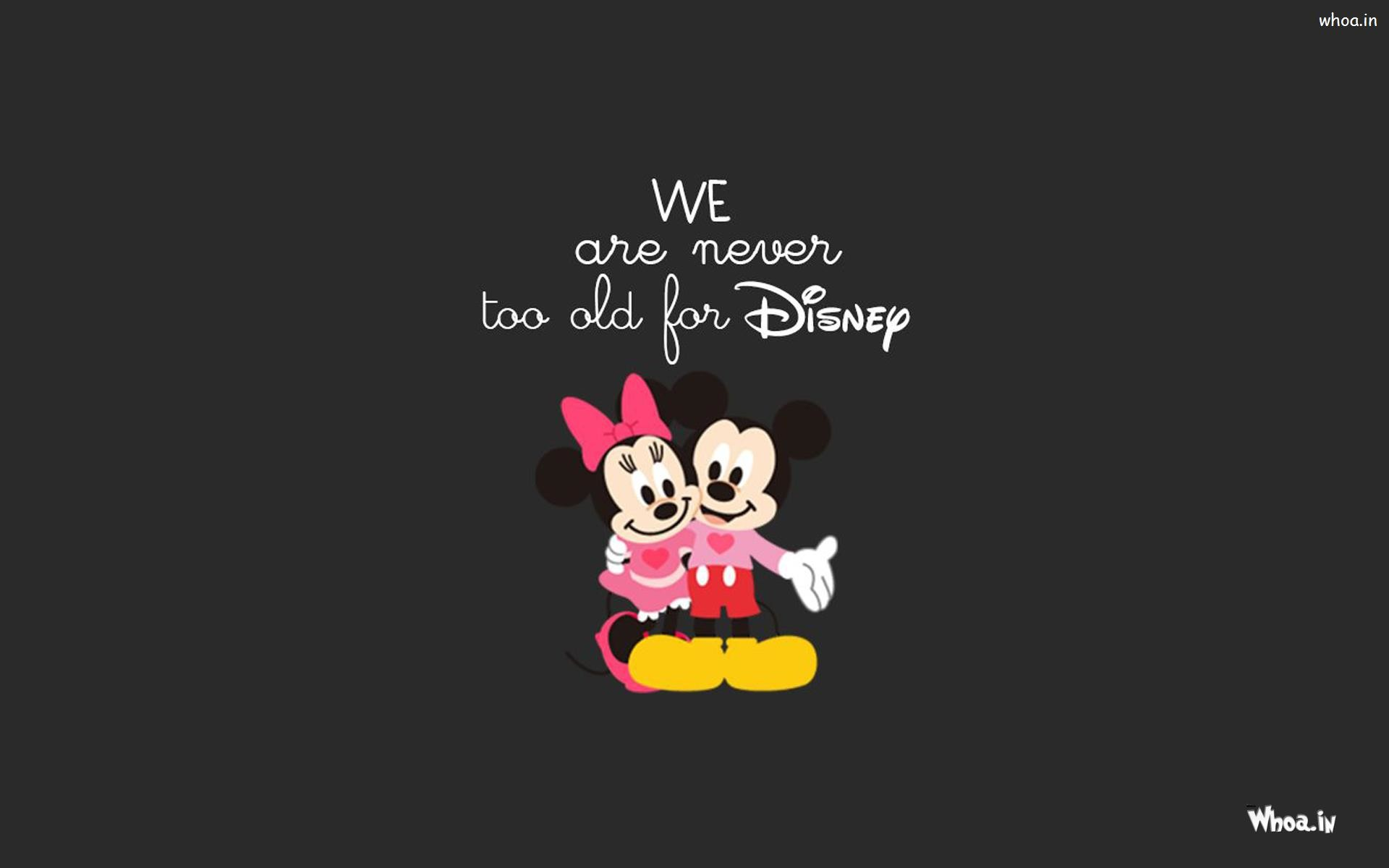 Minnie And Mickey Mouse Wallpapers 56 Images