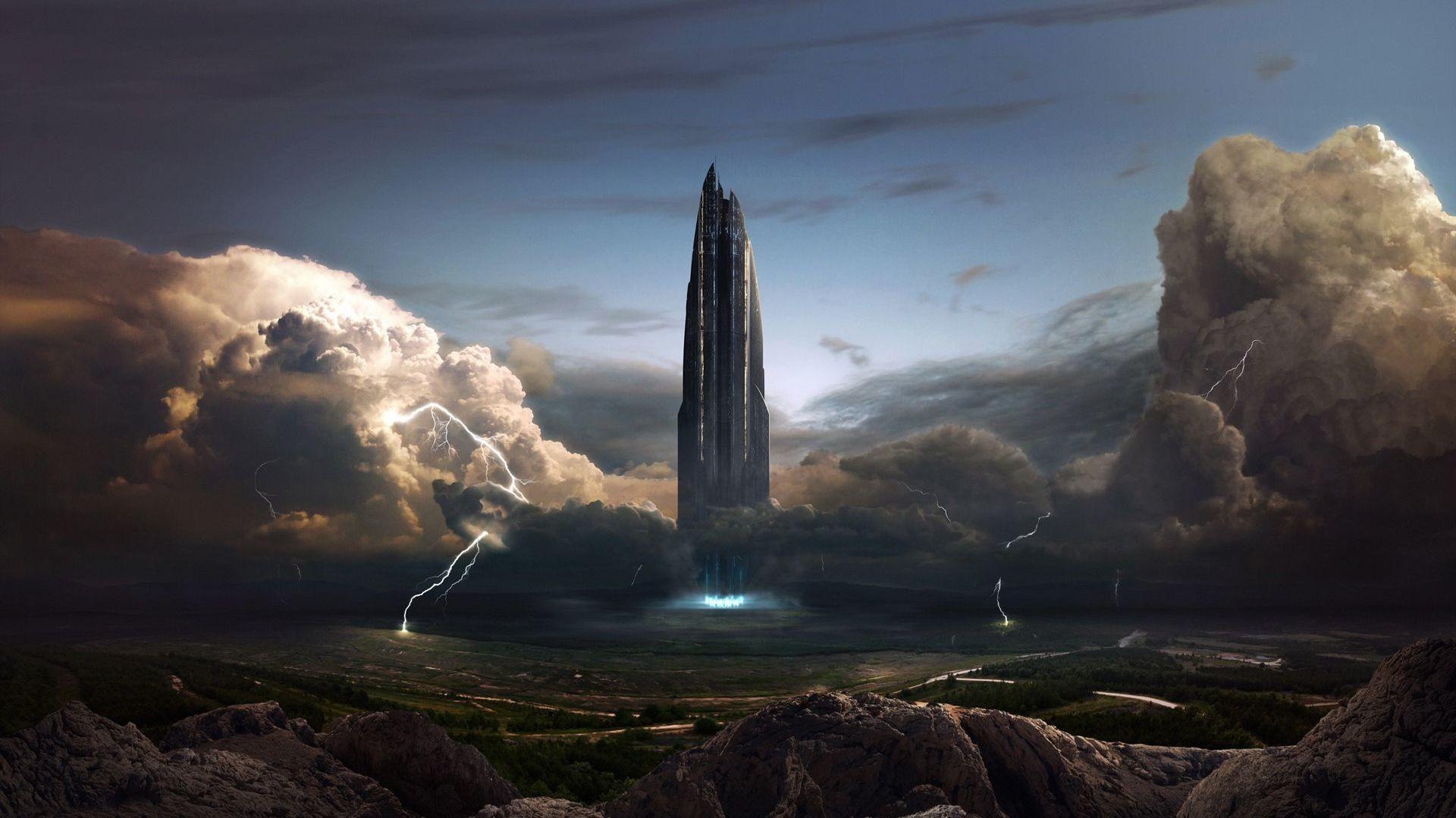 Sci Fi Wallpaper 2560x1440: Alien Spaceship Wallpaper (74+ Images