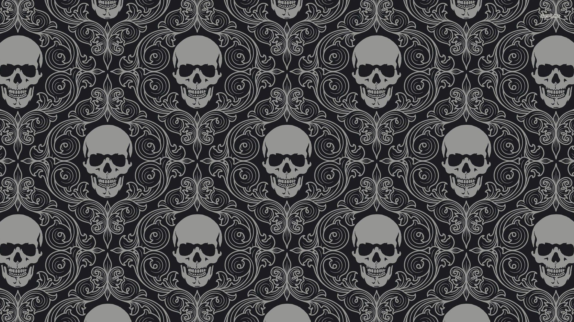 Black And White Skulls Wallpaper 59 Images