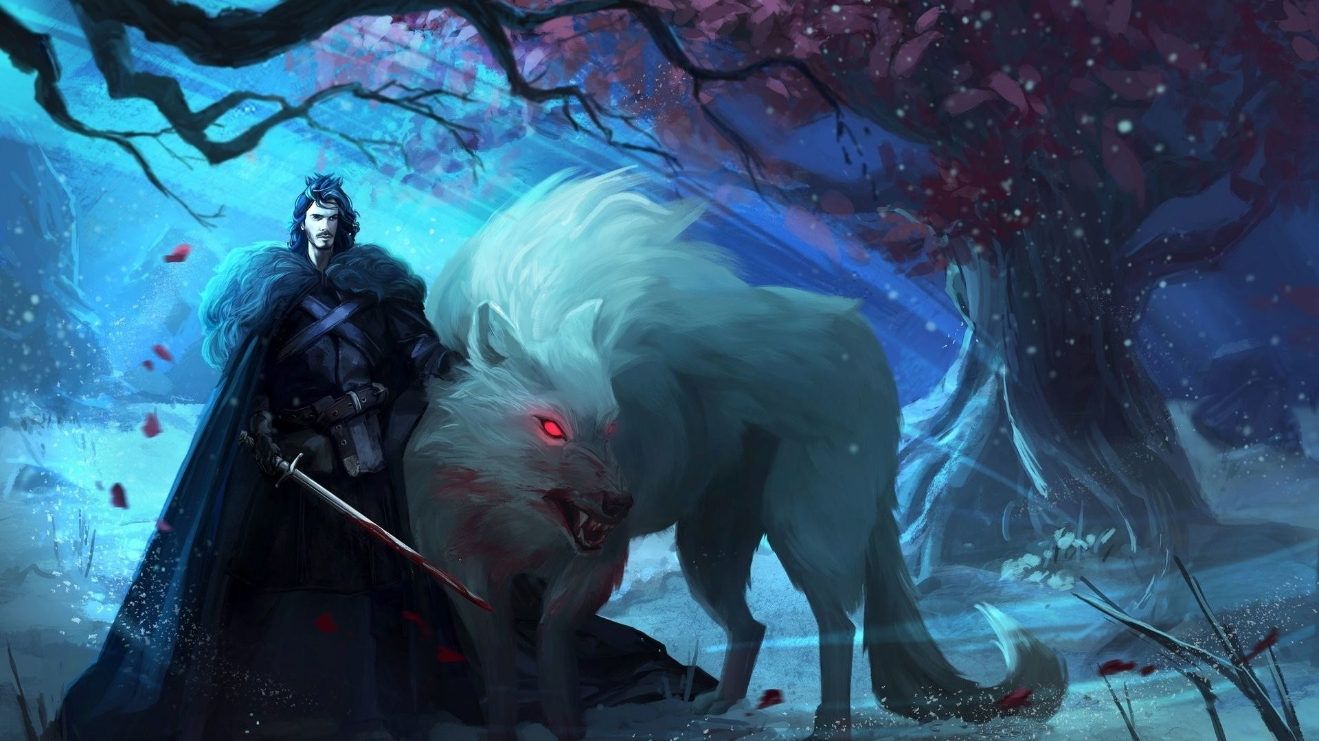 1920x1080 Fantasy - A Song Of Ice And Fire Game Of Thrones Jon Snow Wallpaper