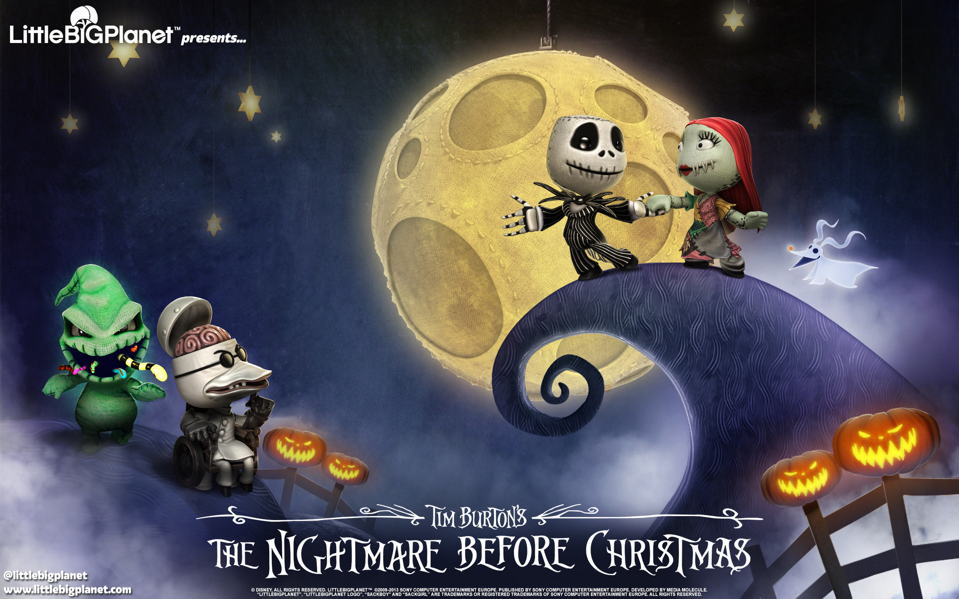 Nightmare Before Christmas HD Wallpaper (75+ images)