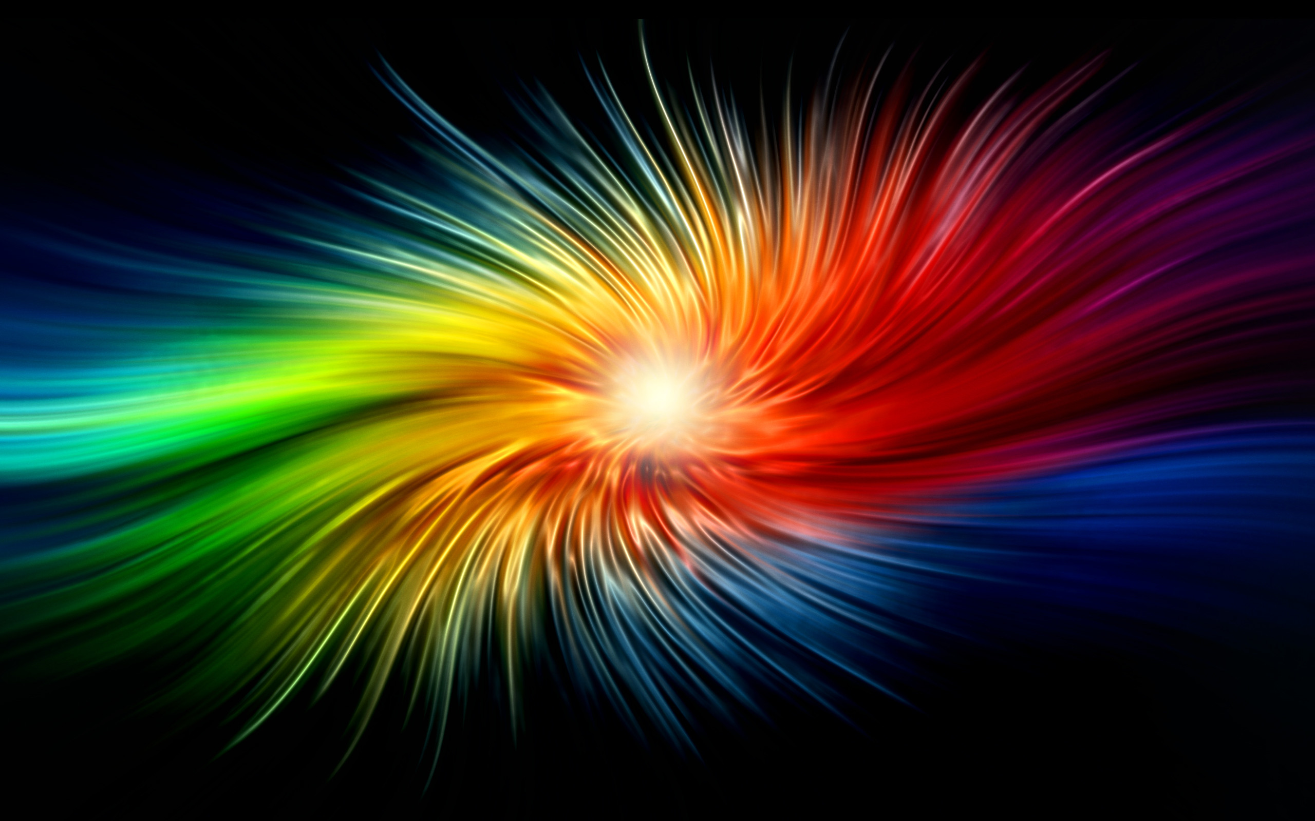 2560x1600 3D abstract art - colorful background. Bright Wallpapers. Cool Abstract  Wallpapers. HD Wallpaper