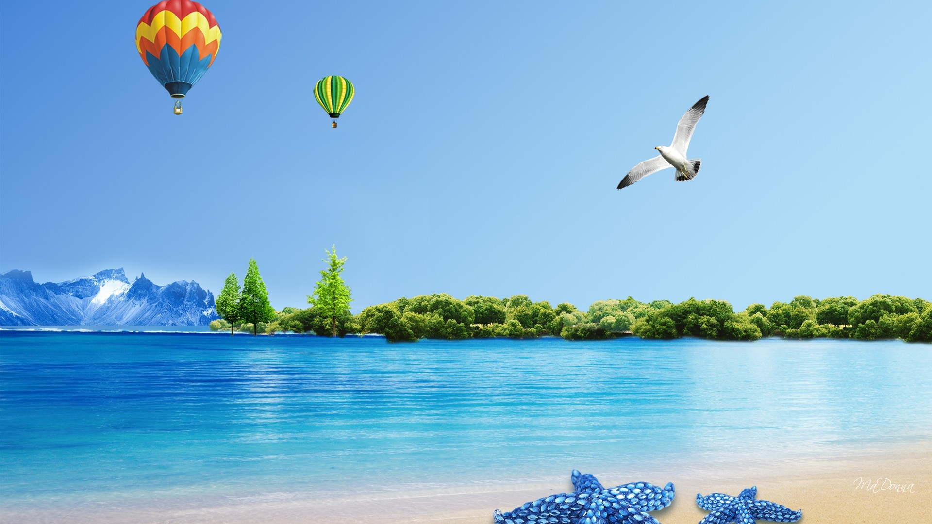 1920x1080 Summer Backgrounds Wallpaper