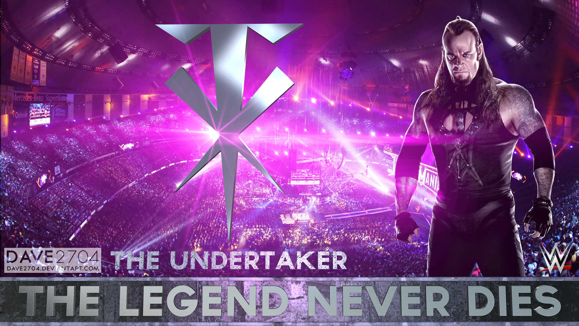 1920x1080 ... WWE The Undertaker Legend Never Dies Edition by dave2704