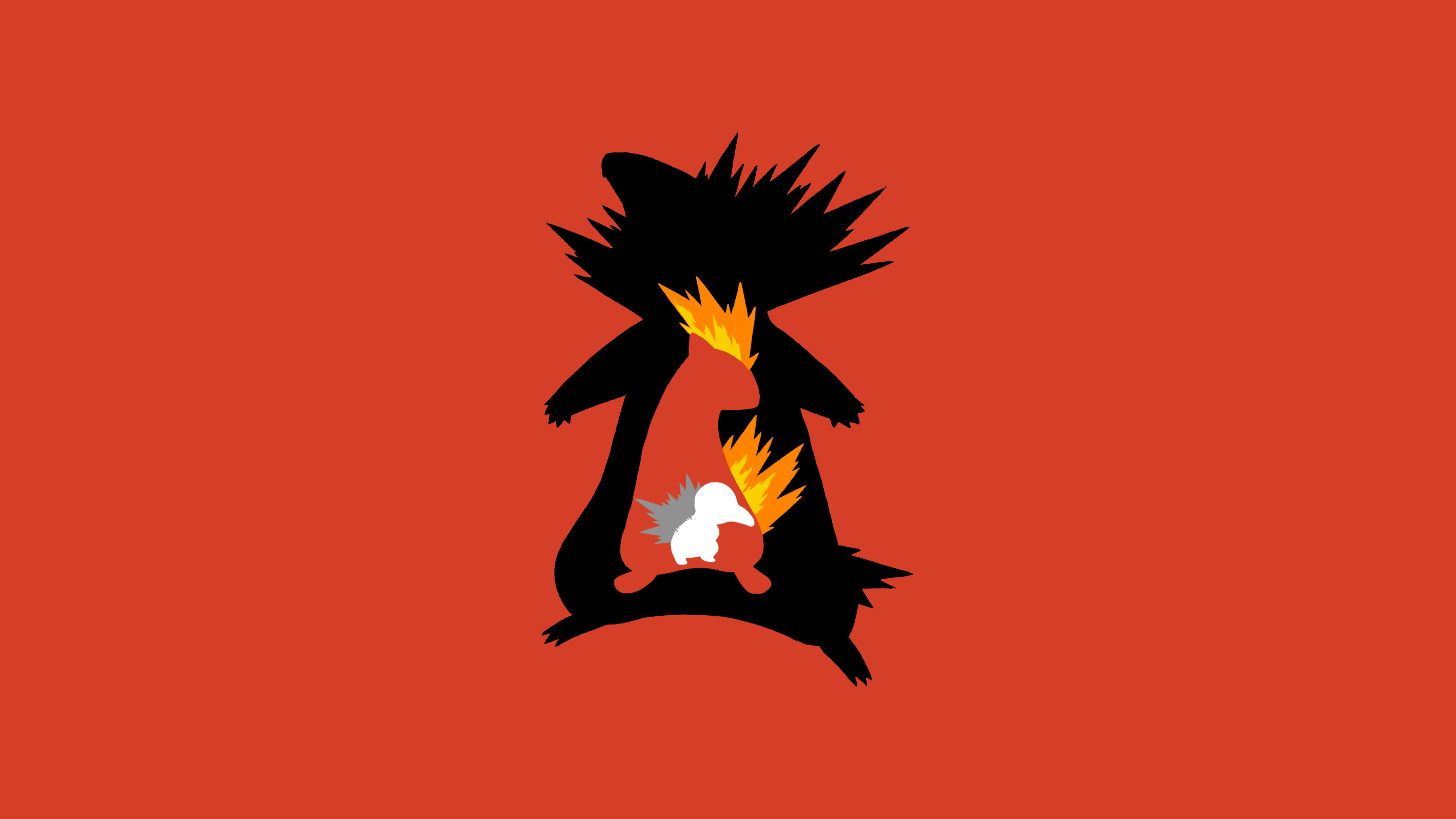 2838x1596 Cyndaquil Pokemon Evolution Wallpaper Wallpaper