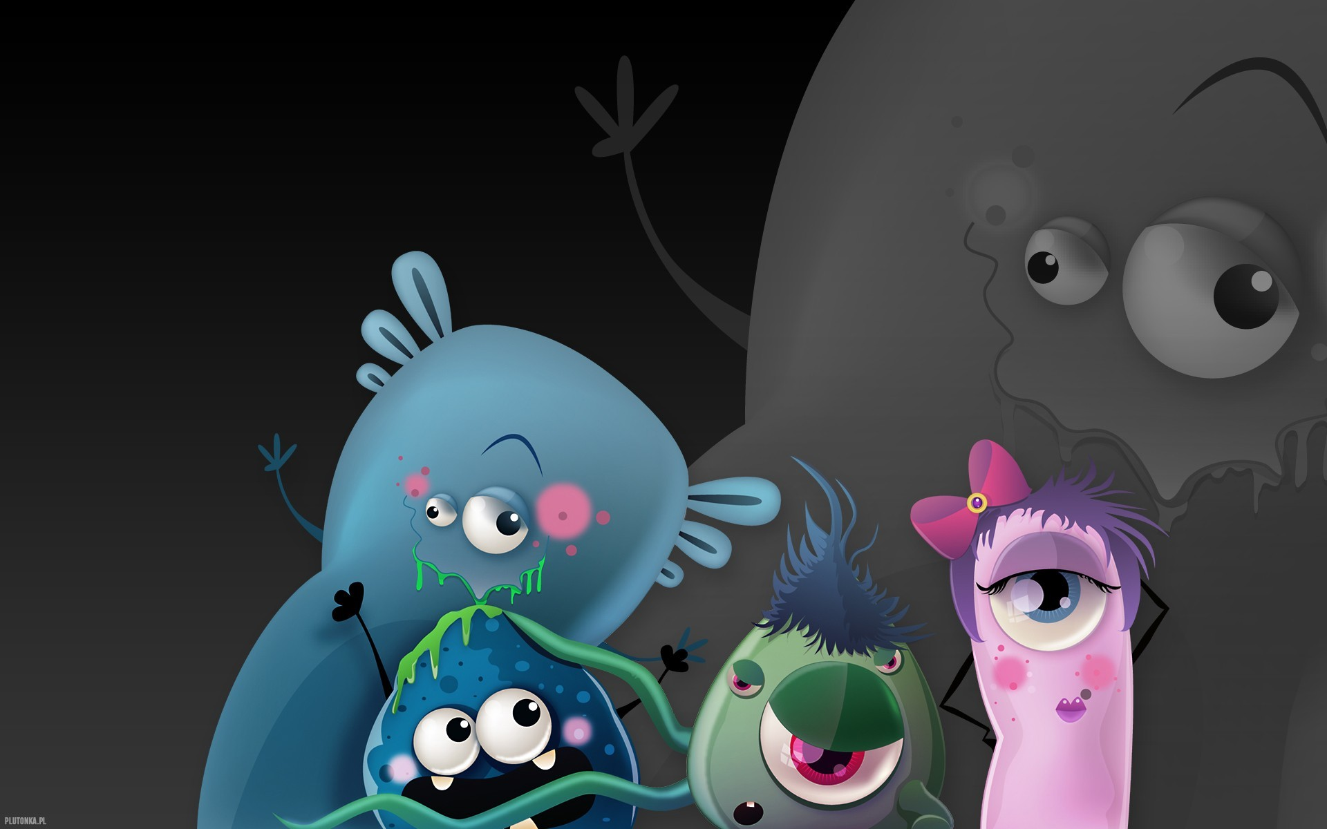 Cute Animated Monster Wallpaper 56 Images