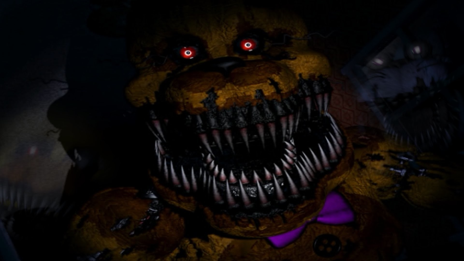 1920x1080 Five Nights at Freddy's 4 #5: GOLDEN FREDDY & The Bite of 87!