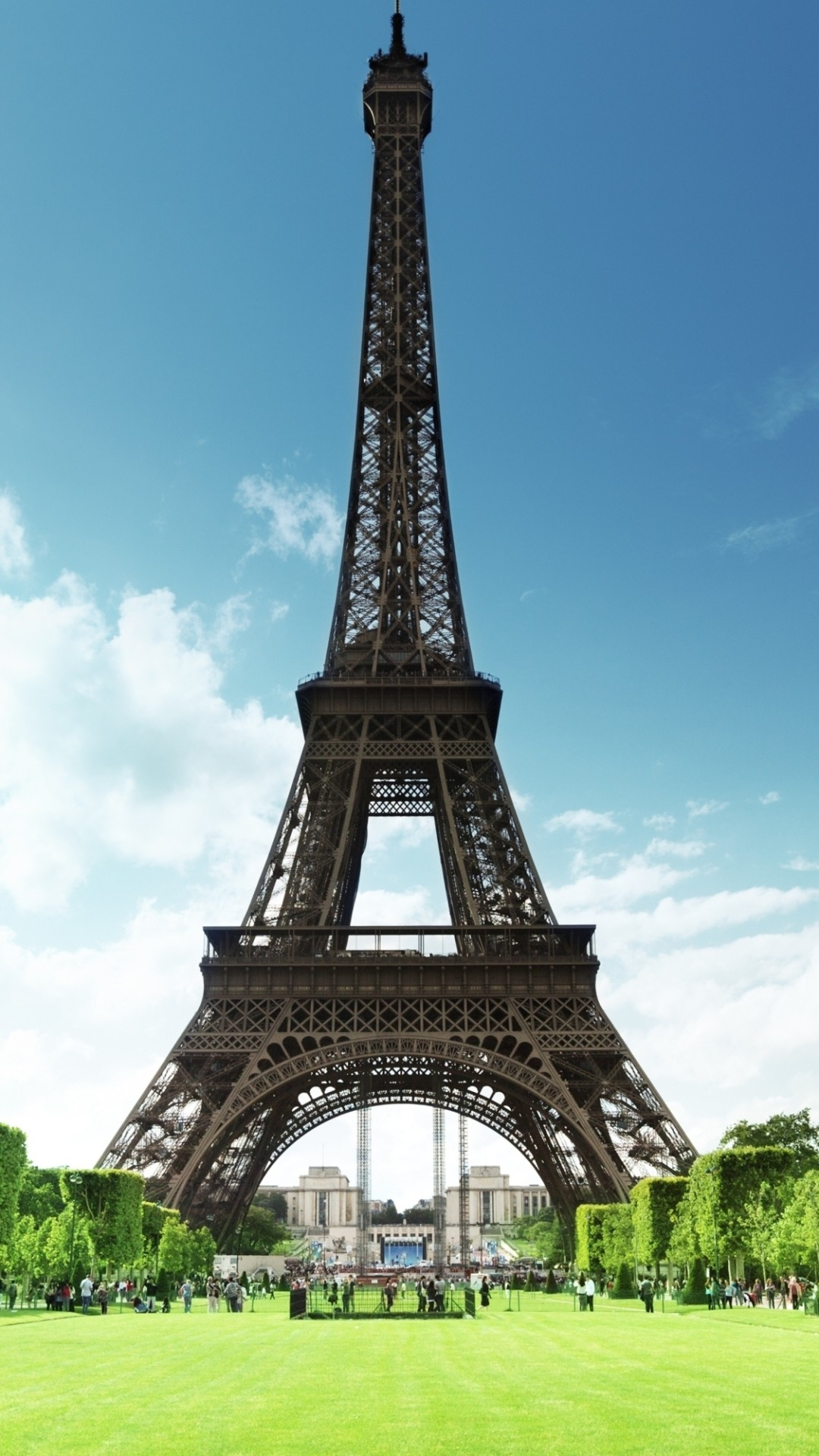1080x1920 Man Made Eiffel Tower Monuments. Wallpaper 12509