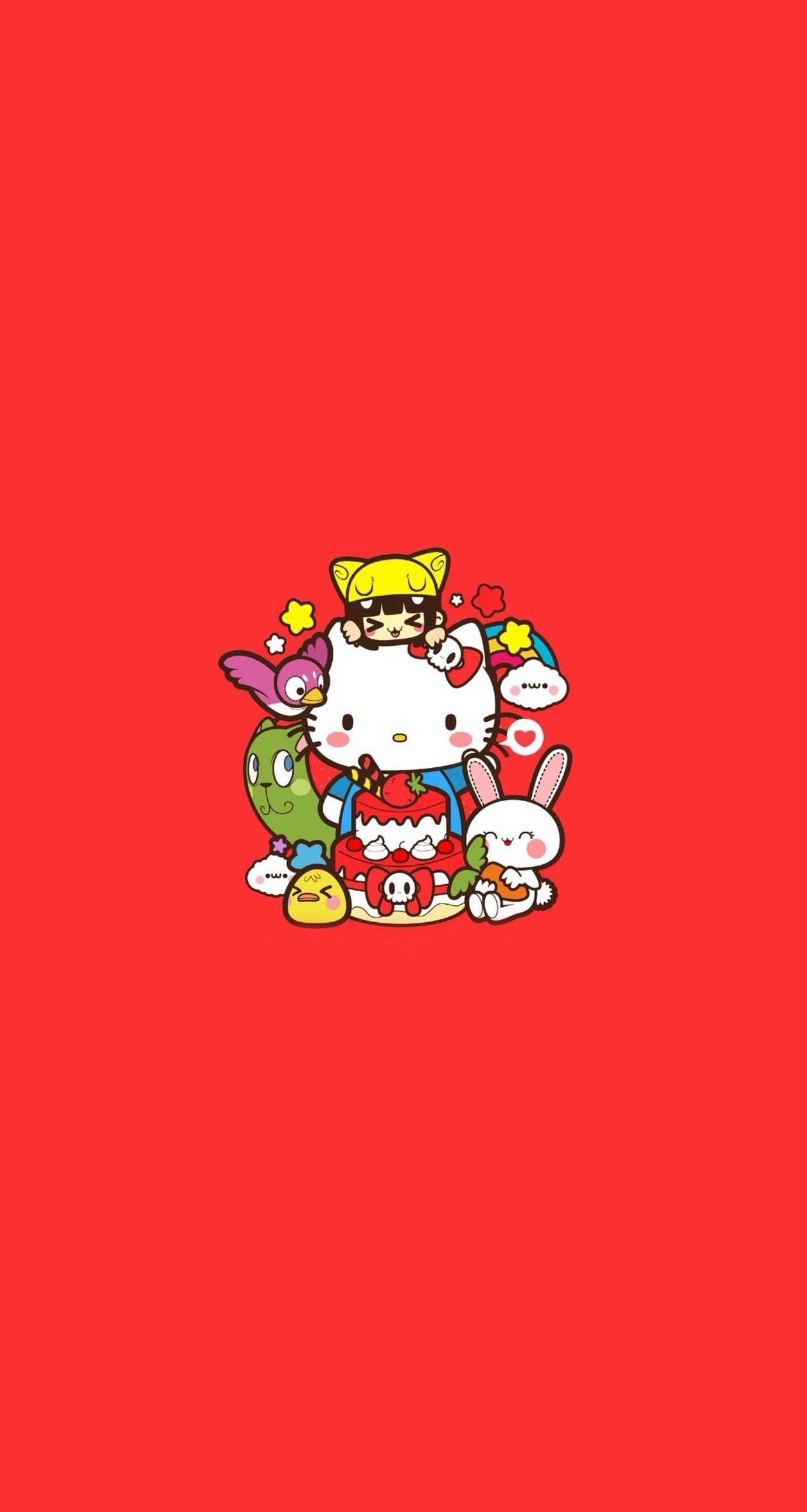 Red Hello Kitty Wallpaper 68 Images