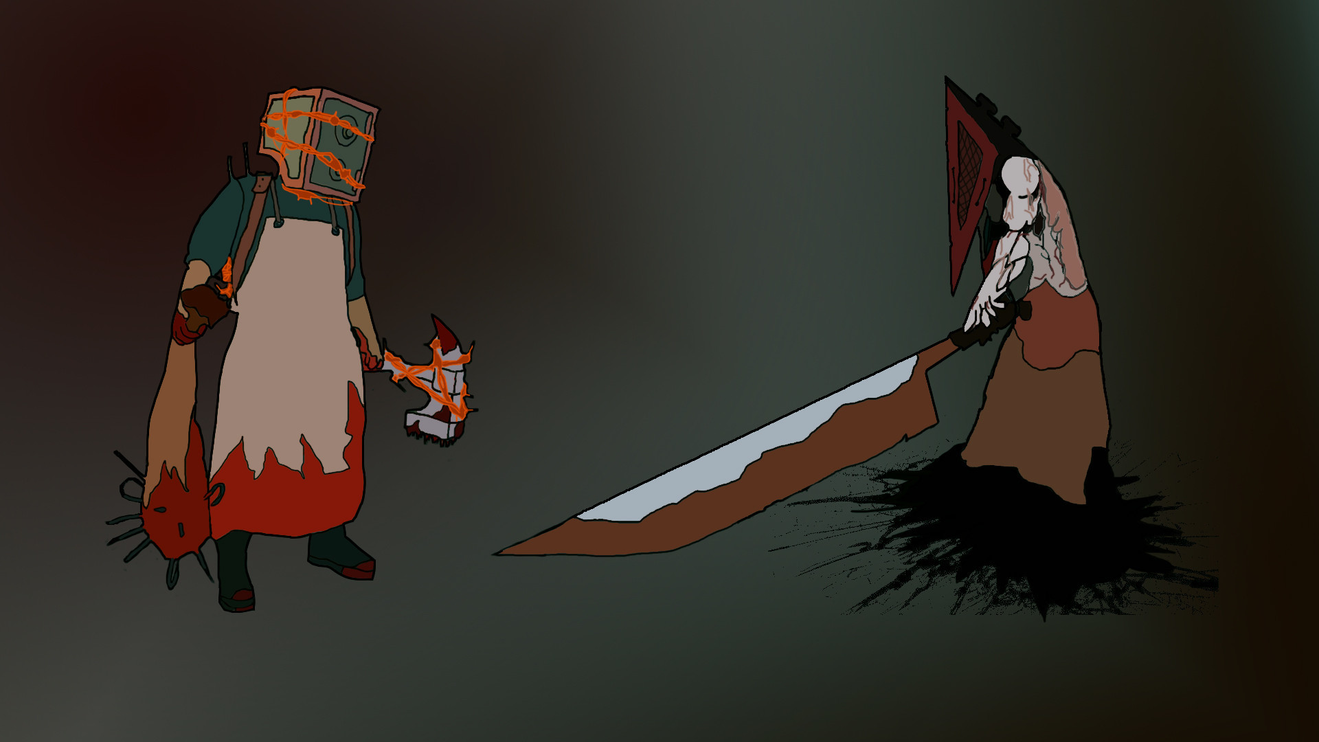 Silent Hill Pyramid Head Wallpaper (72+ Images