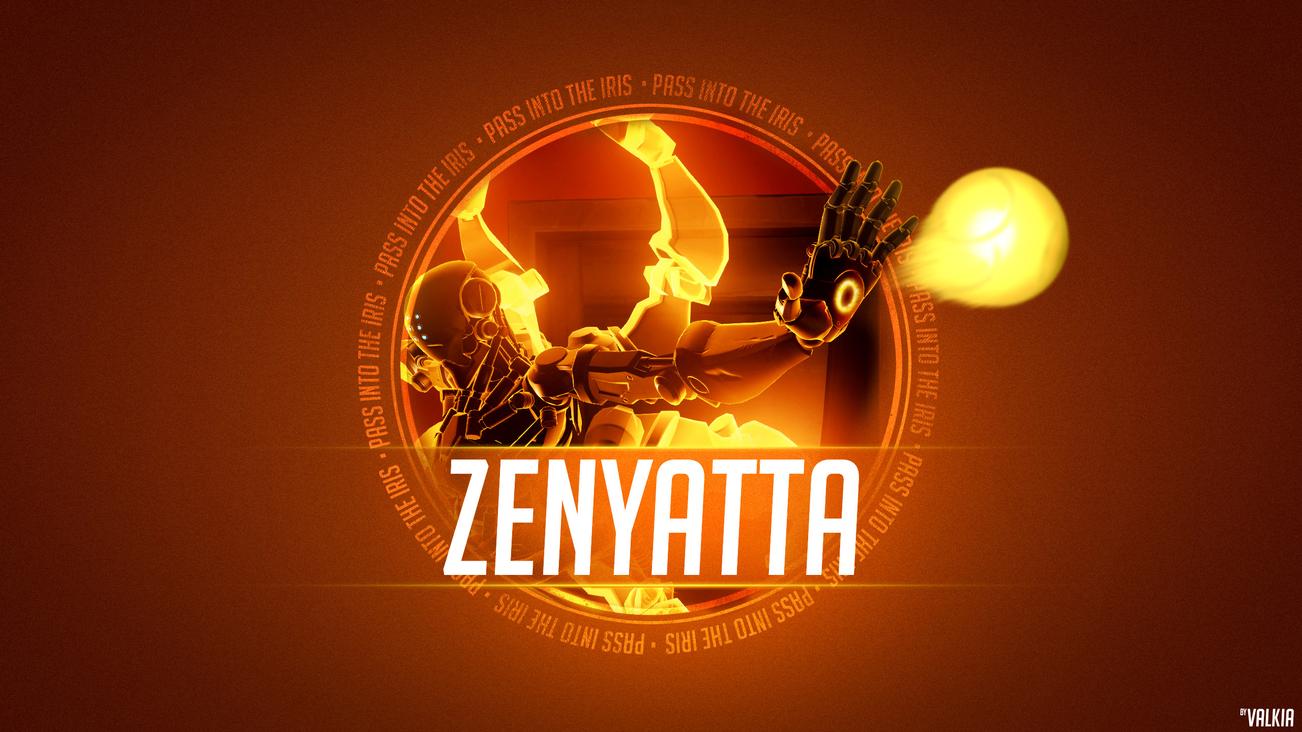 2560x1440 Overwatch Zenyatta Wallpapers High Quality Resolution