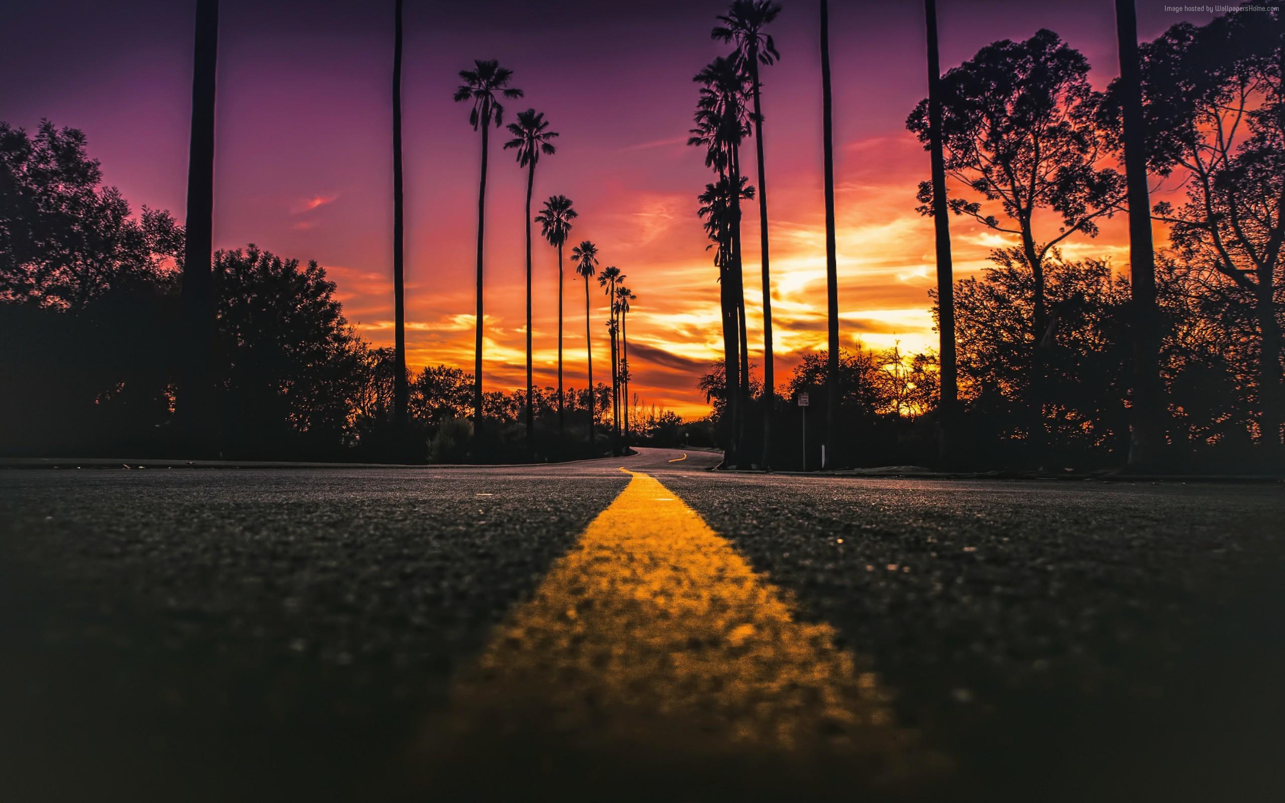 aesthetic sunset wallpaper desktop