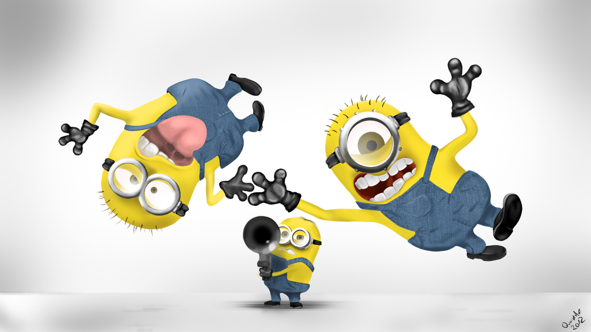 1920x1080 Despicable Me 2 Hd Minions Desktop Wallpapers