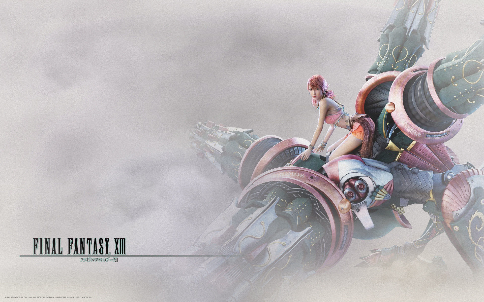 1920x1200 ... Final Fantasy 13 Vanille 16:10 by Quick-Stop