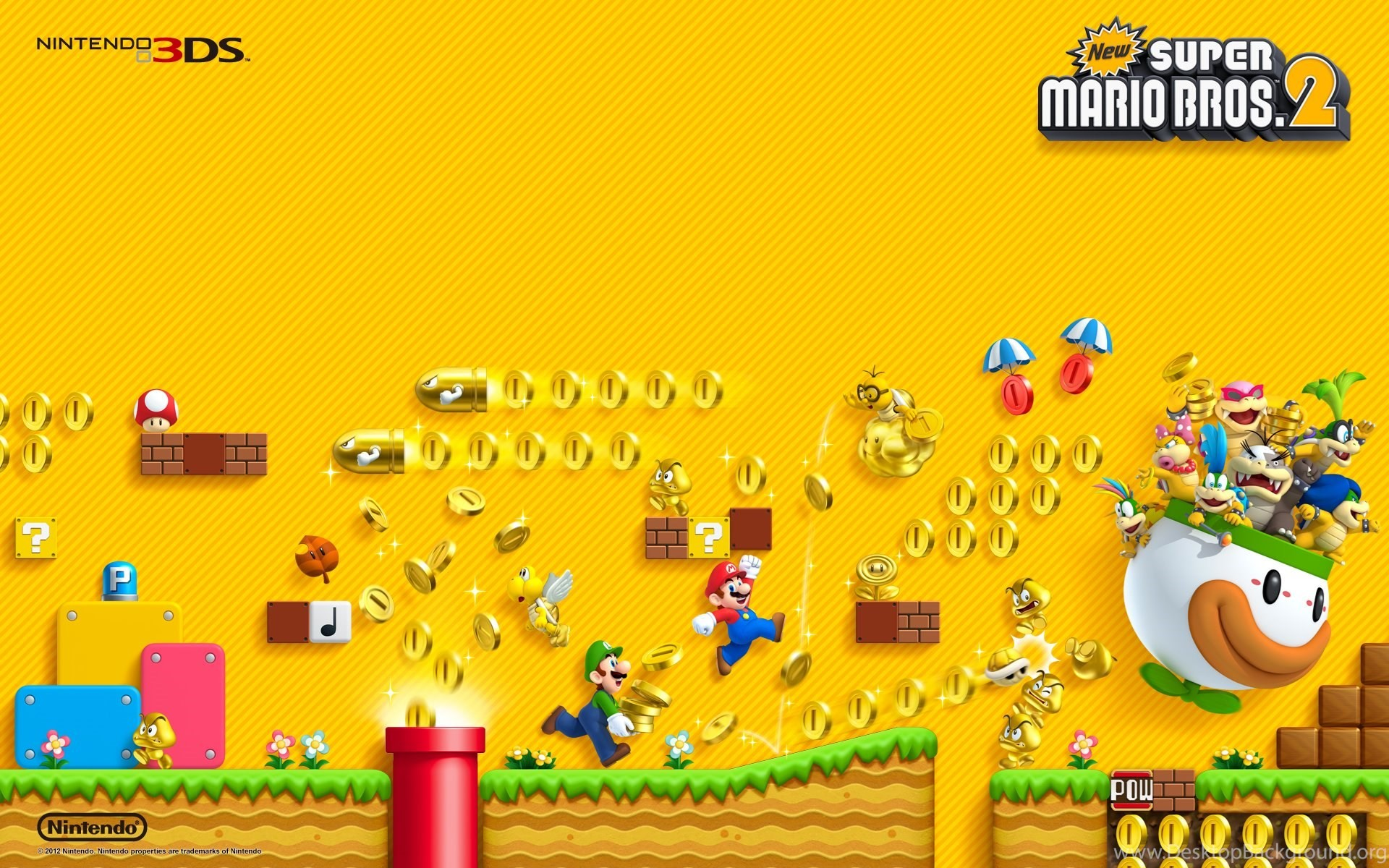 Mario Bros Wallpapers 70 Images