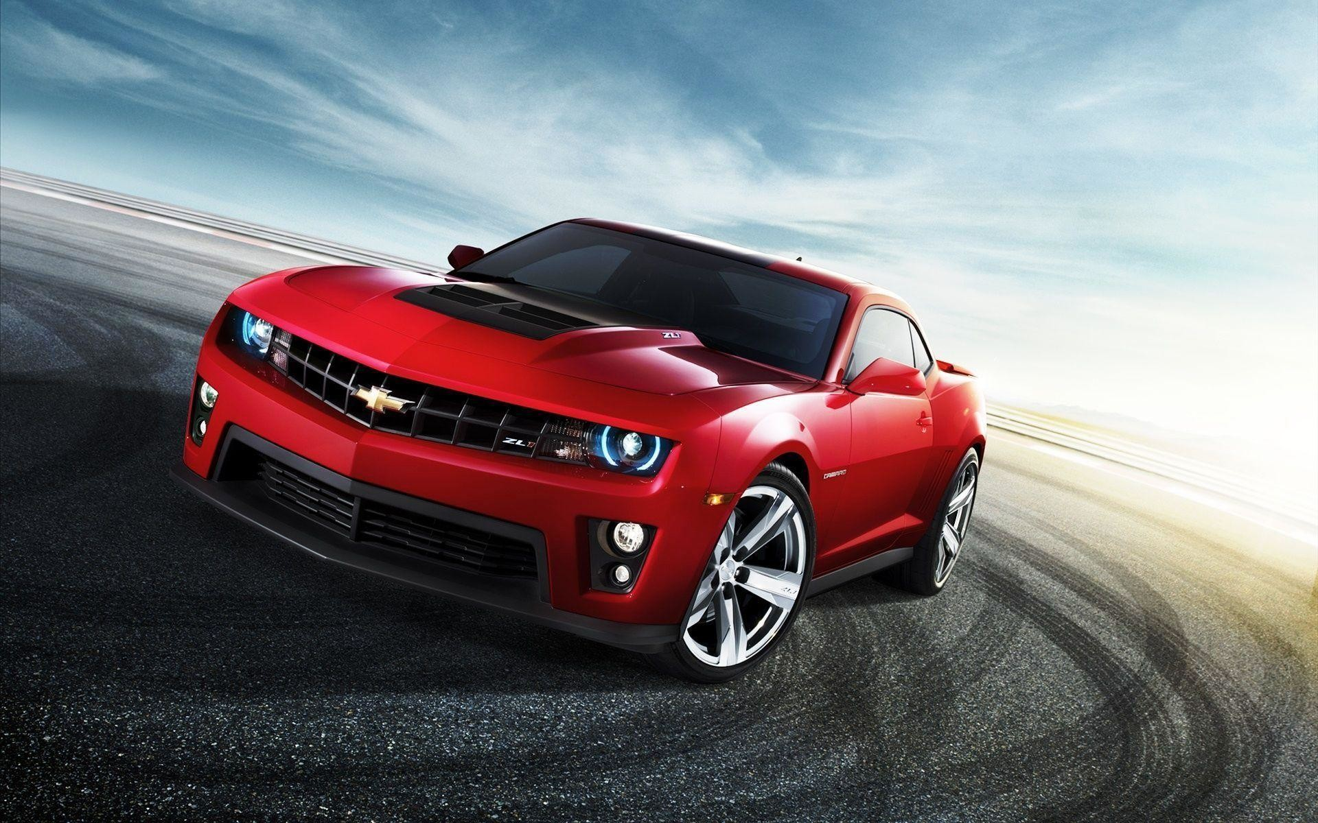 1920x1200 Red Car Camaro ZL Wallpaper Wide #8595 Wallpaper | High Resolution .