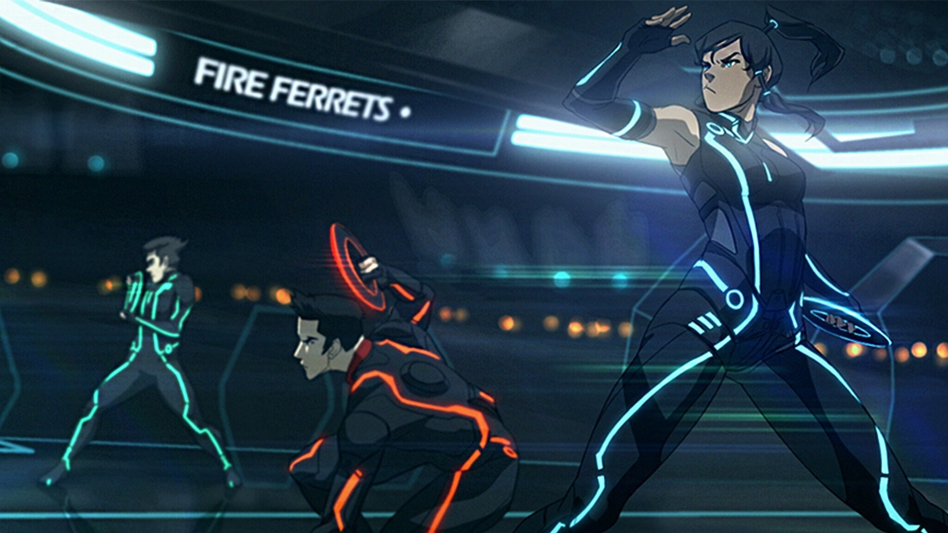 1920x1080 Korra The Legend Of Tron Legacy Avatar