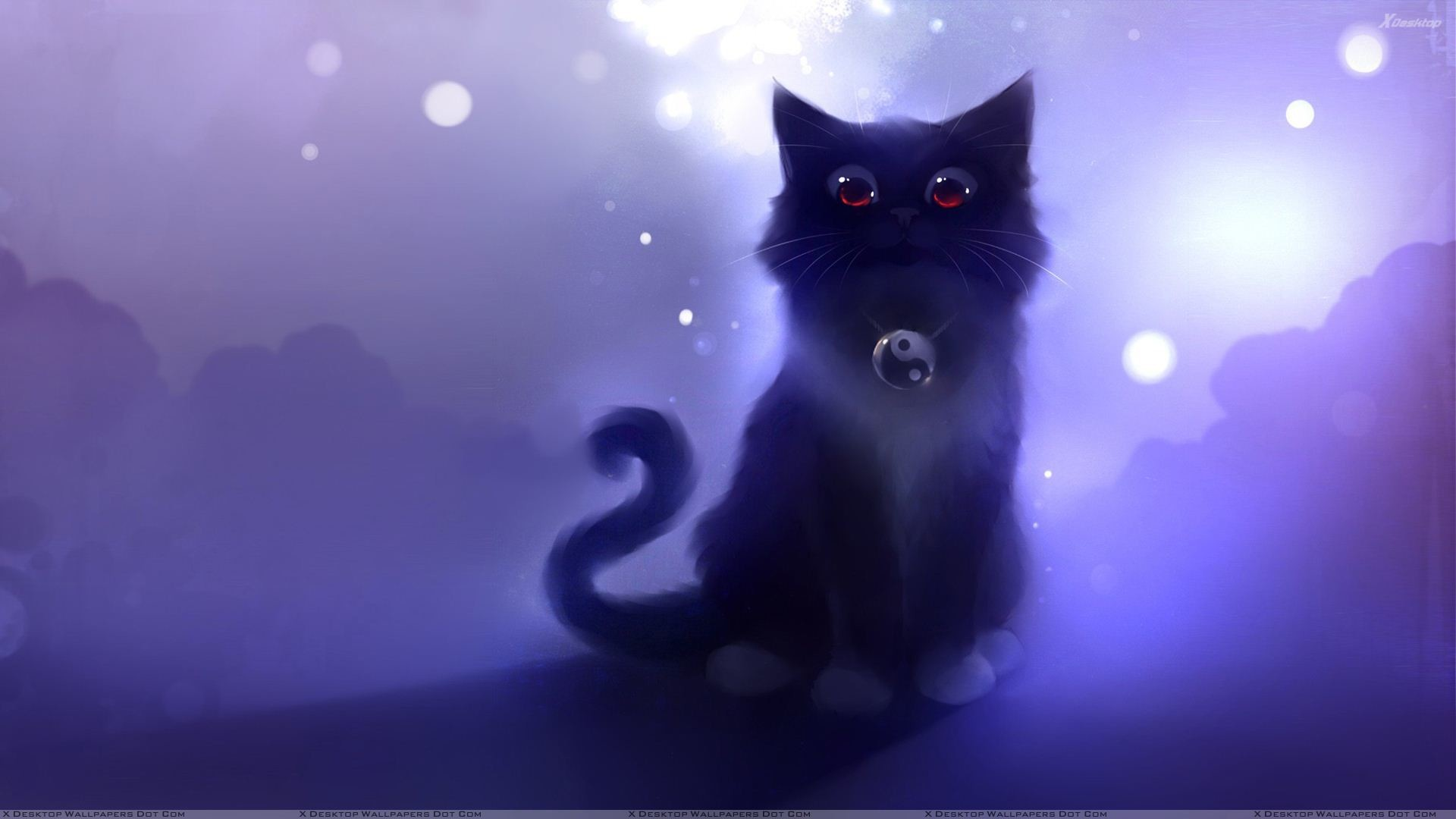 Black Cartoon Wallpaper 55 Image Collections Of: Black Cat Wallpapers (71+ Images