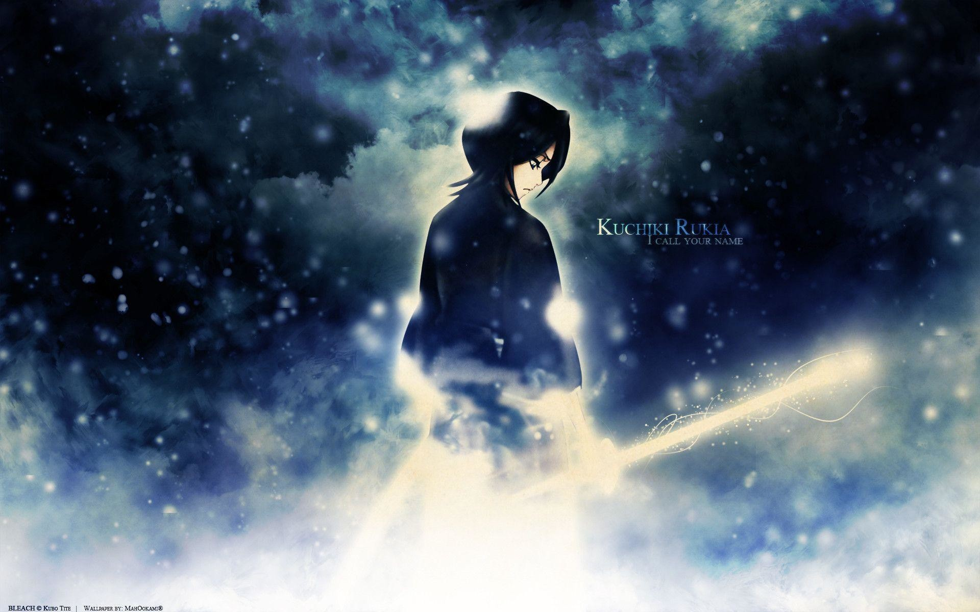 1920x1200 Images For > Bleach Rukia Kuchiki Wallpaper