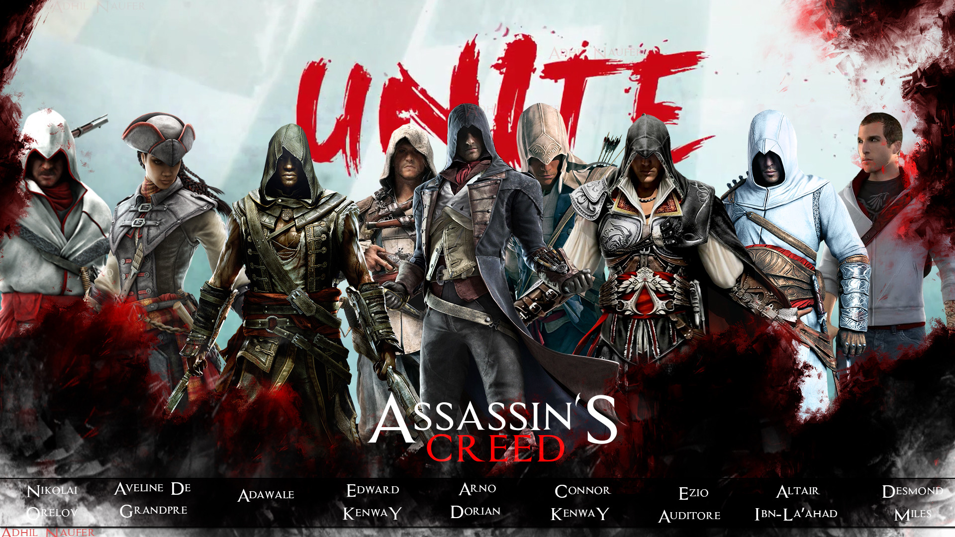 1920x1080 Assassin's Creed Unite by aDeLFrost Assassin's Creed Unite by aDeLFrost
