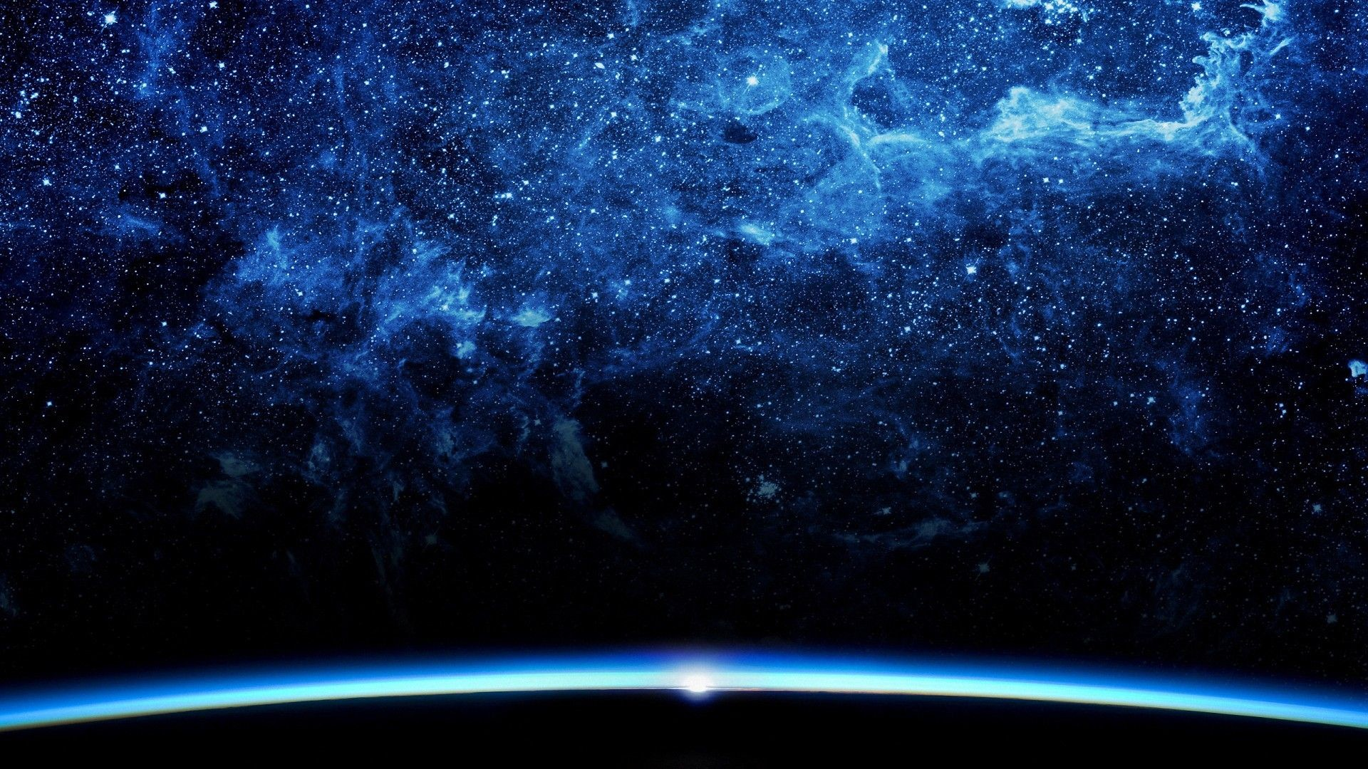 1920x1080 galaxy backgrounds for desktop | Pretty Blue Galaxy Space HD Backgrounds - Desktop  Wallpapers