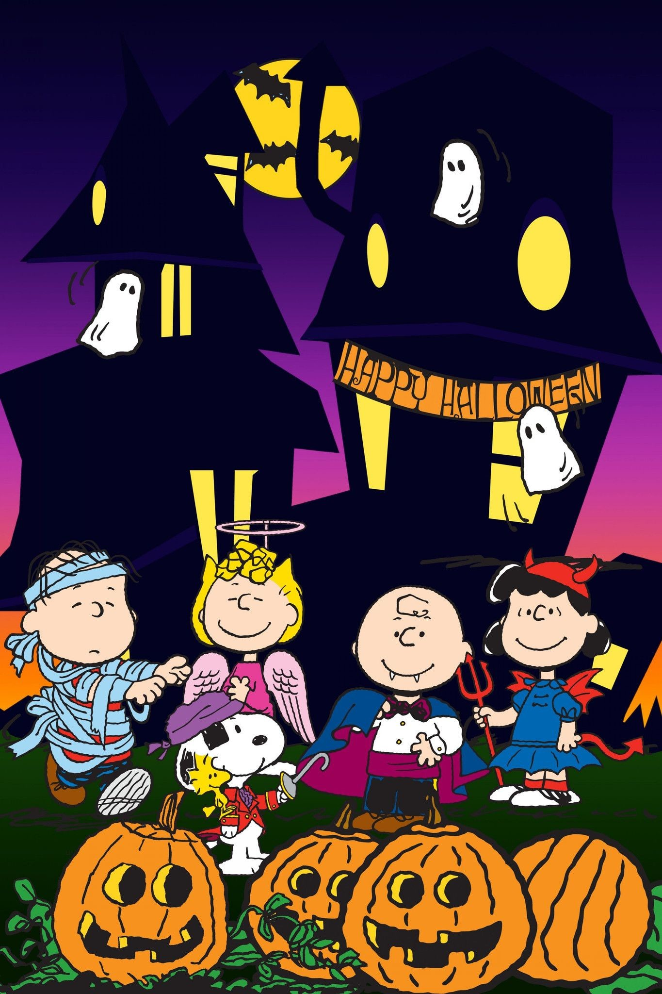 Charlie brown thanksgiving wallpaper 42 images - Snoopy halloween images ...