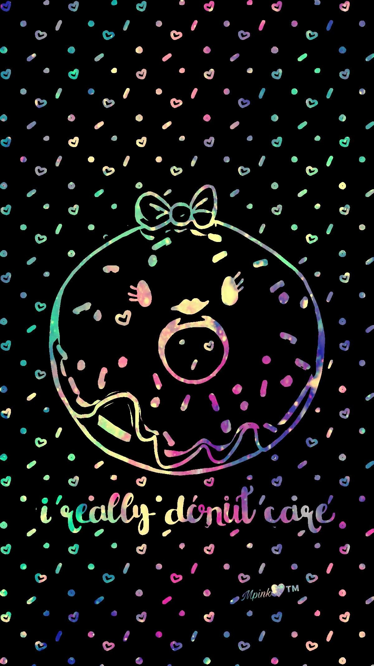 1200x2133 I Really Donut Care Galaxy Wallpaper #androidwallpaper #iphonewallpaper # wallpaper #galaxy #sparkle #glitter #lockscreen #pretty #kawaii #cute  #girly #neon ...