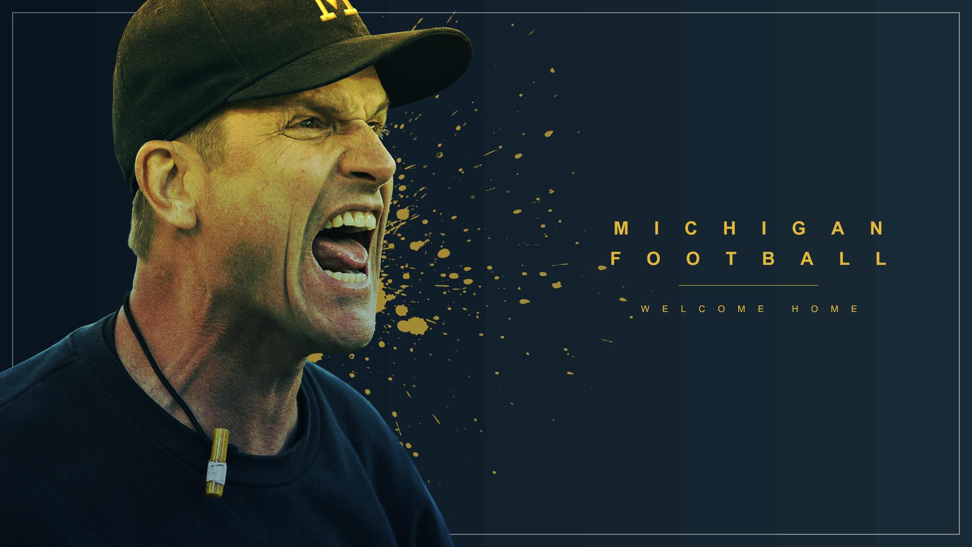 49 Michigan Football Desktop Wallpaper On Wallpapersafari: University Of Michigan Screensaver Wallpaper (55+ Images